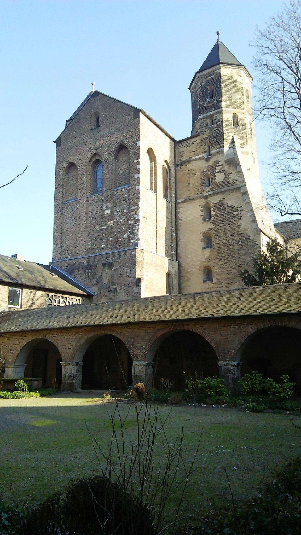St. Maria im Kapitol Cologne (Köln),  Germany by Biniam YIBALEH BinIAM ቢንያም: ይባልህ (@ gOOglE & facEBook & twittER ). nEvEr rUn nEvEr staY
