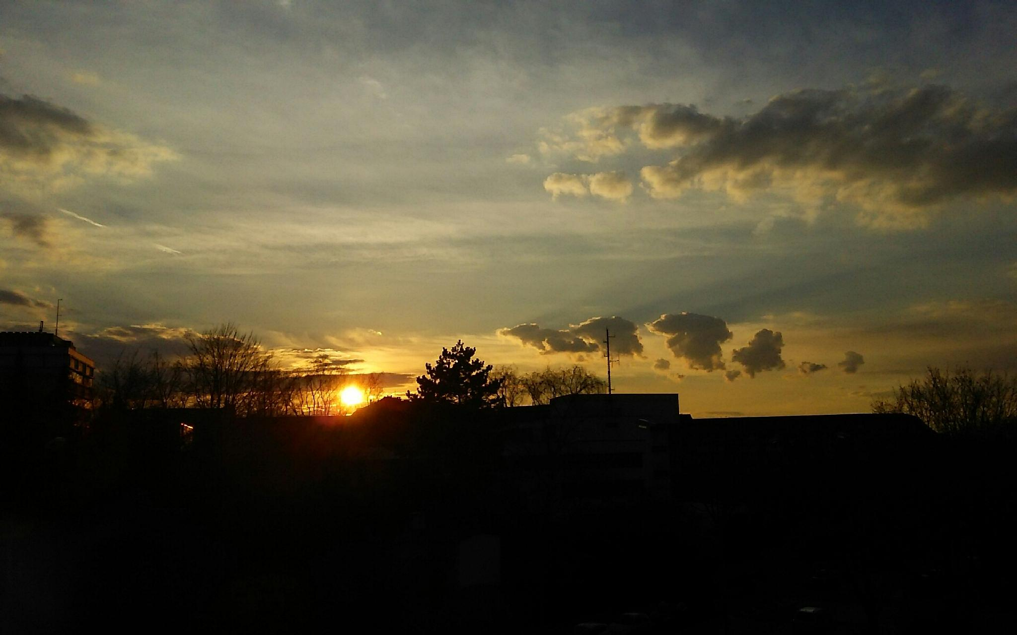Sunset by  Biniam
