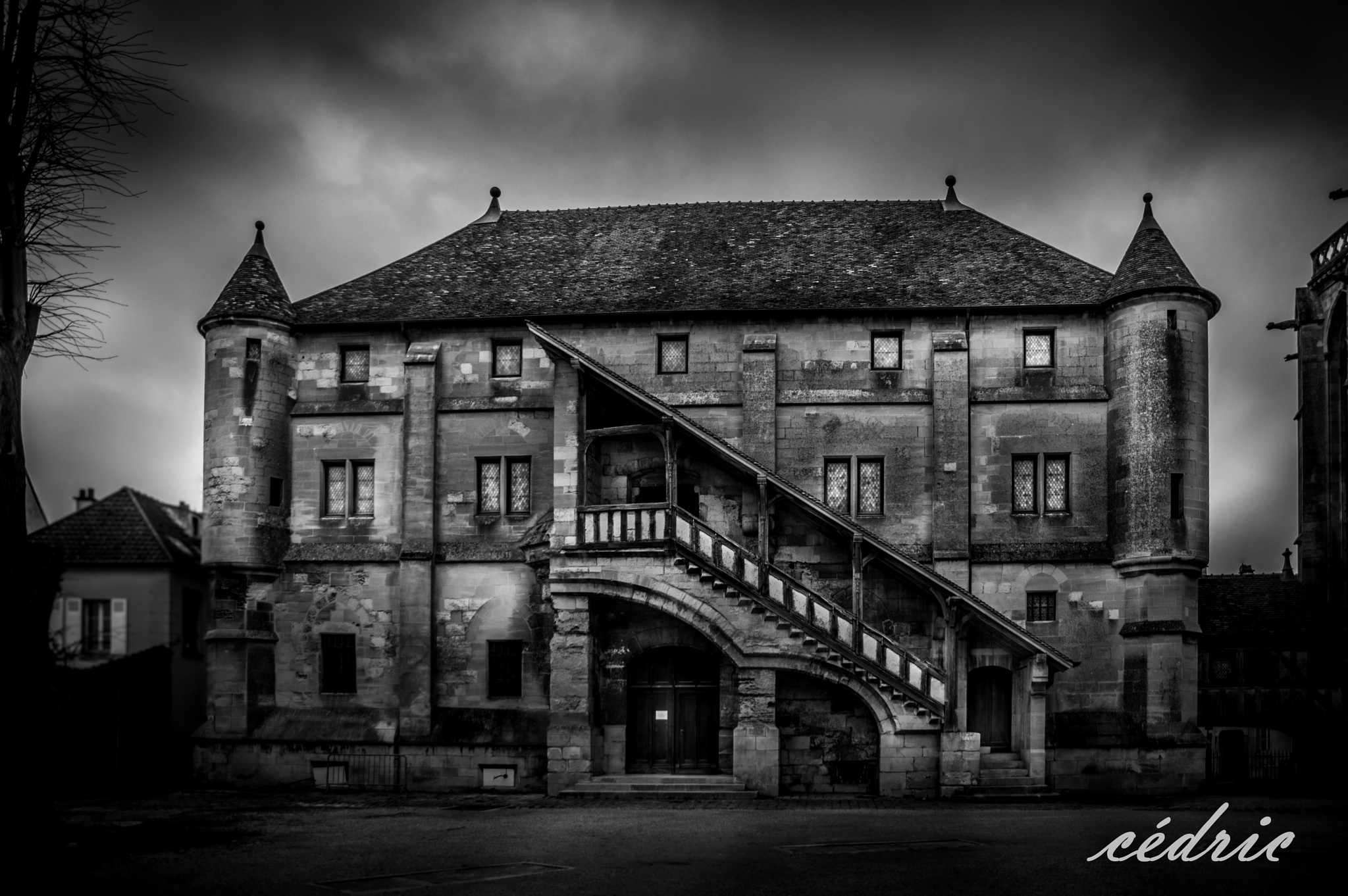 Photo in Black and White #france #meaux #bw #monochrome