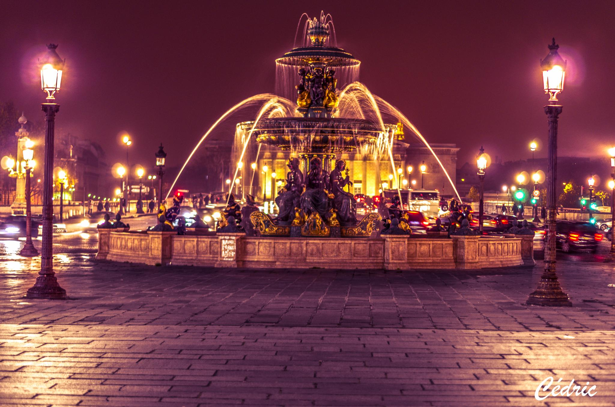 place de la concorde, paris by cedricloy8
