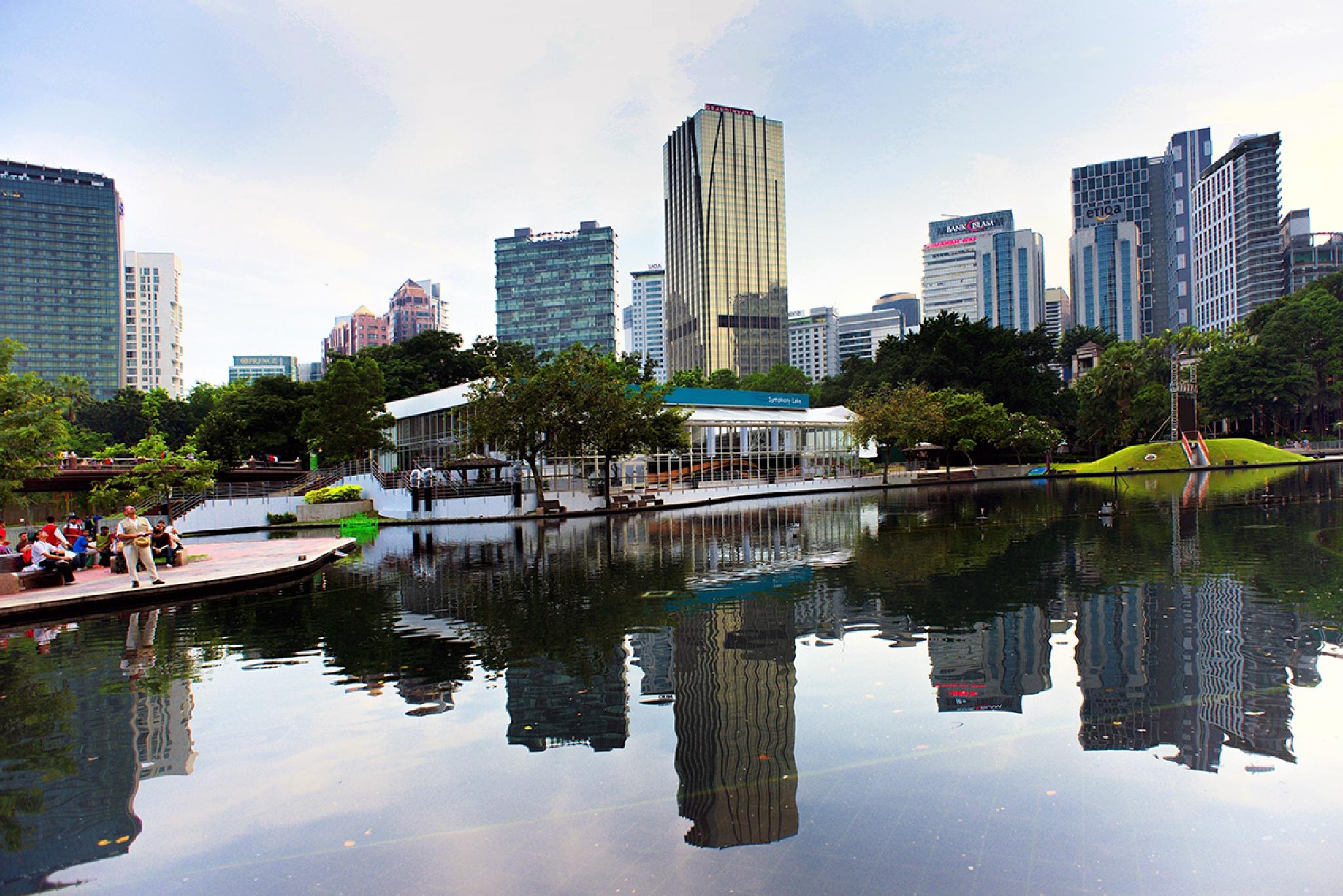 part of Kuala Lumpur city by Rudy Wahju