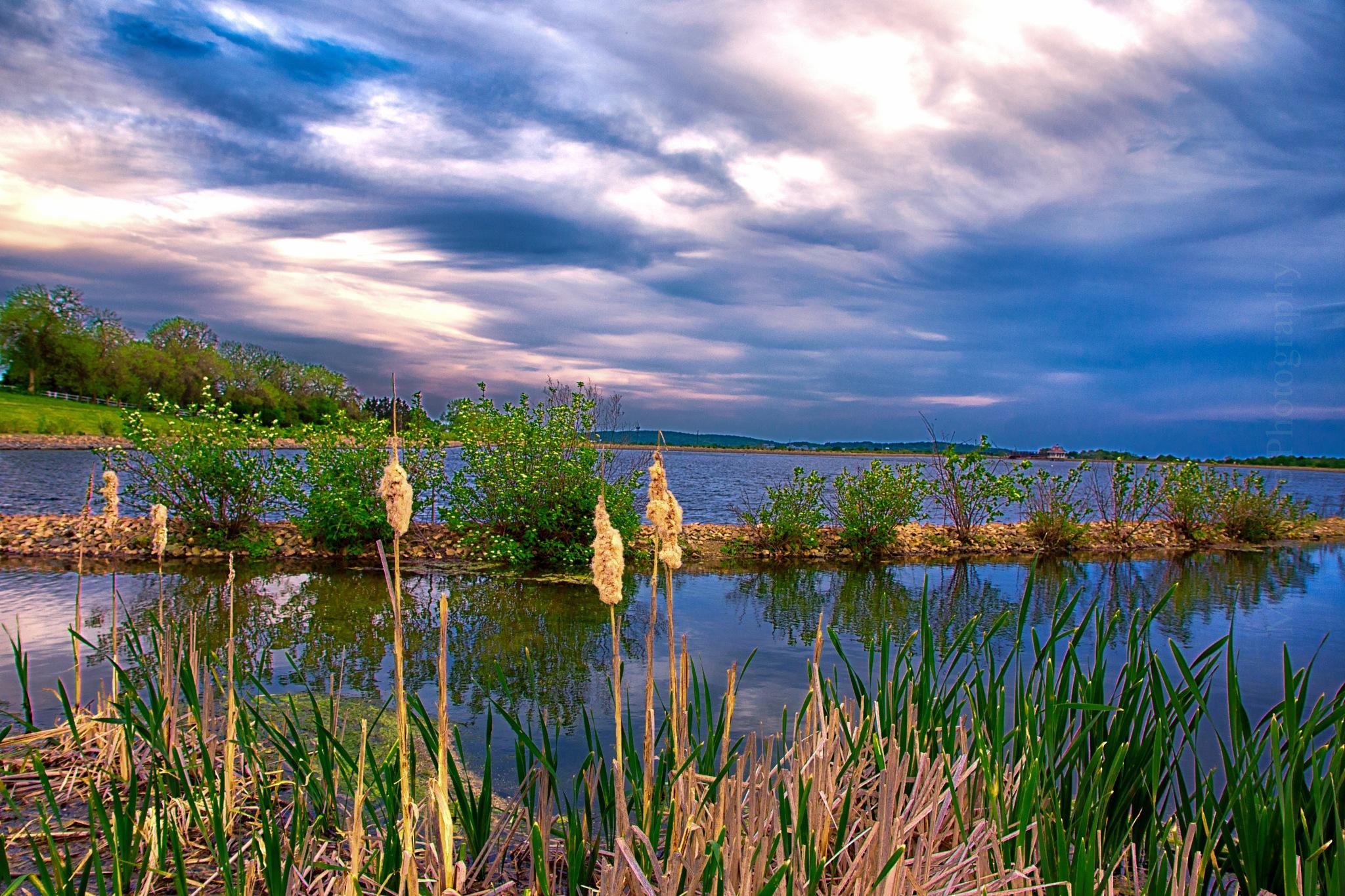 A Calm Spring Evening by mvmoorephotography