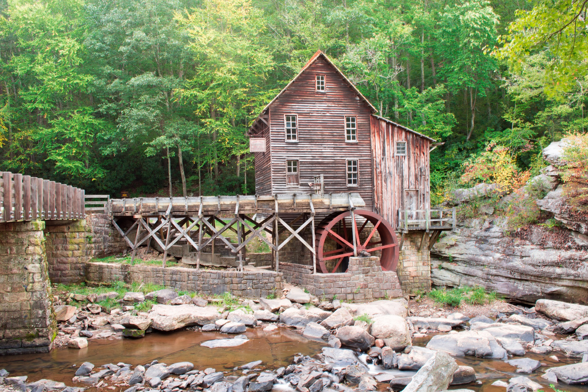 Gade Creek Grist Mill by mvmoorephotography