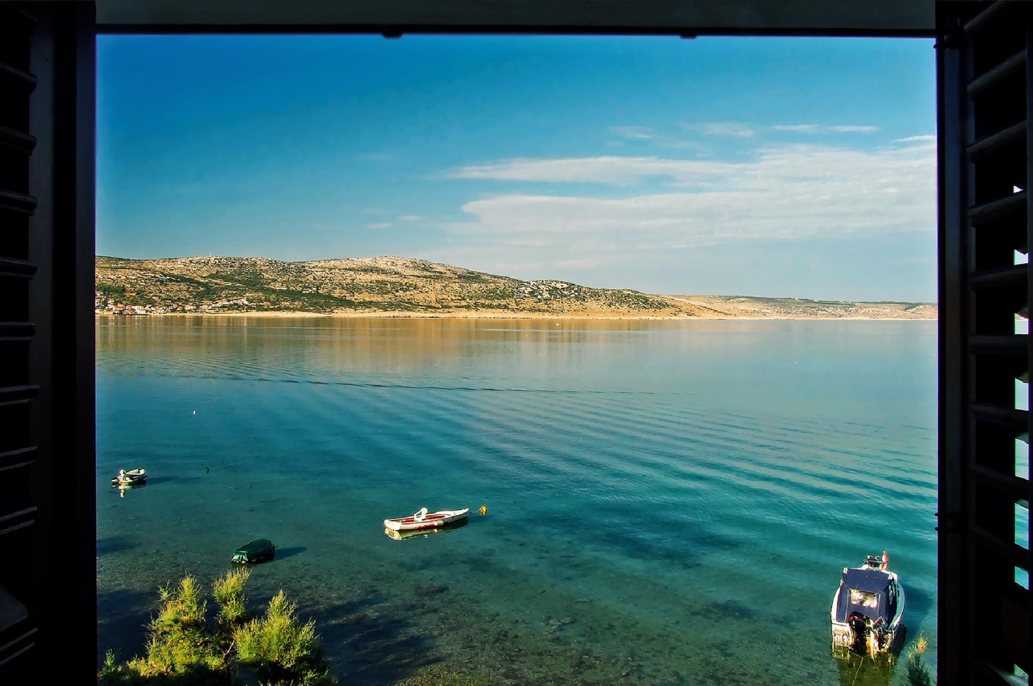 Photo in Landscape #sea #window #summer