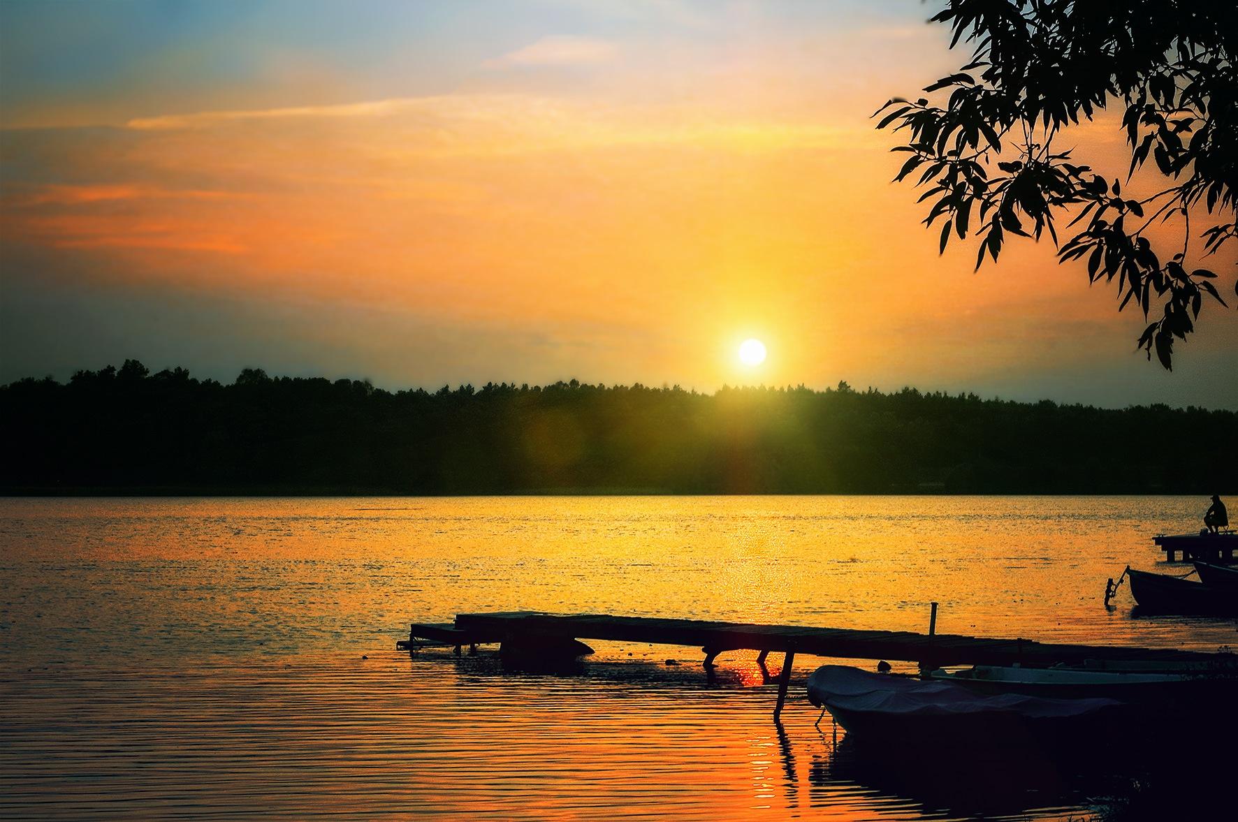 sunset by Tomasz Marciniak