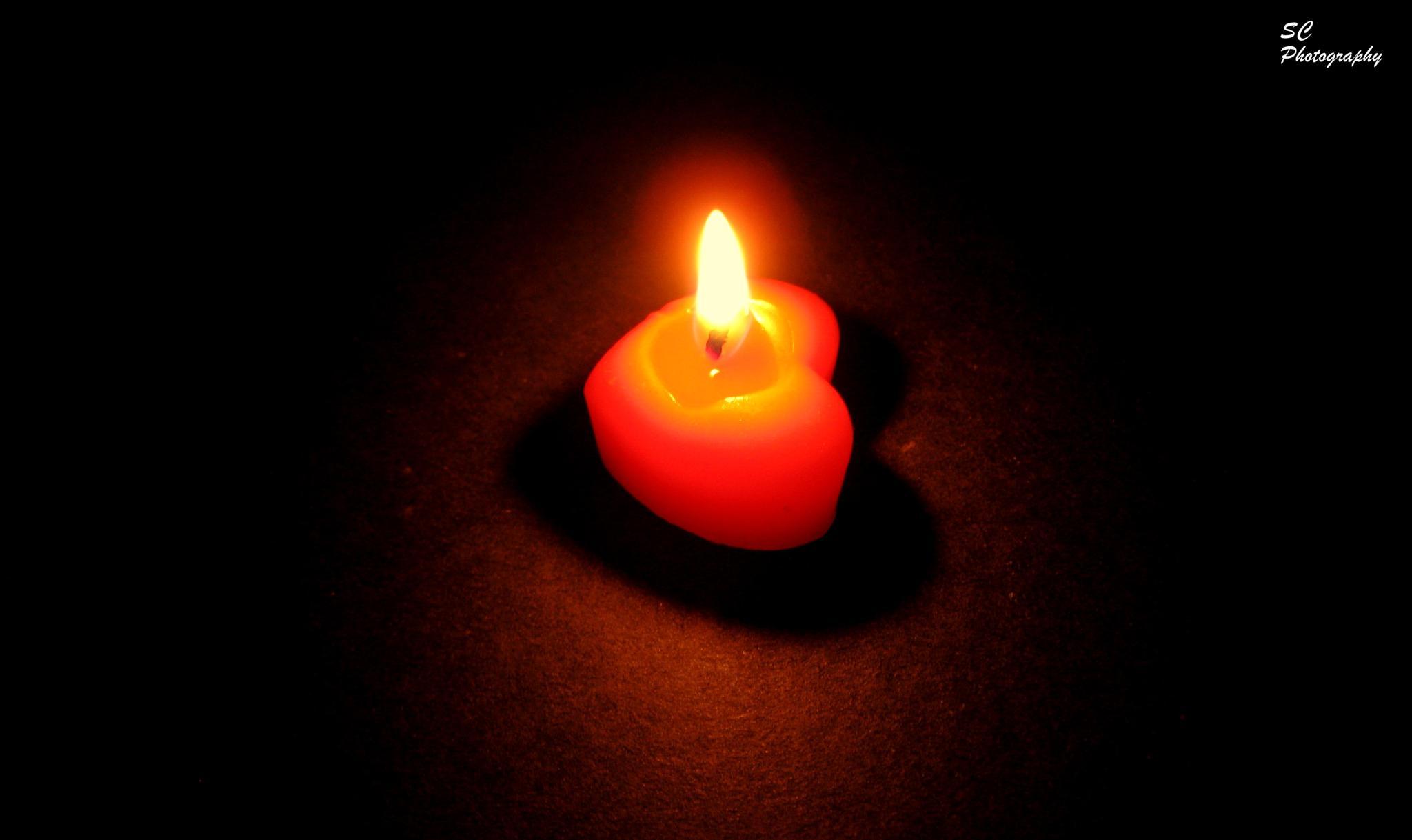 Love Candle by surajit.chakraborty.3745