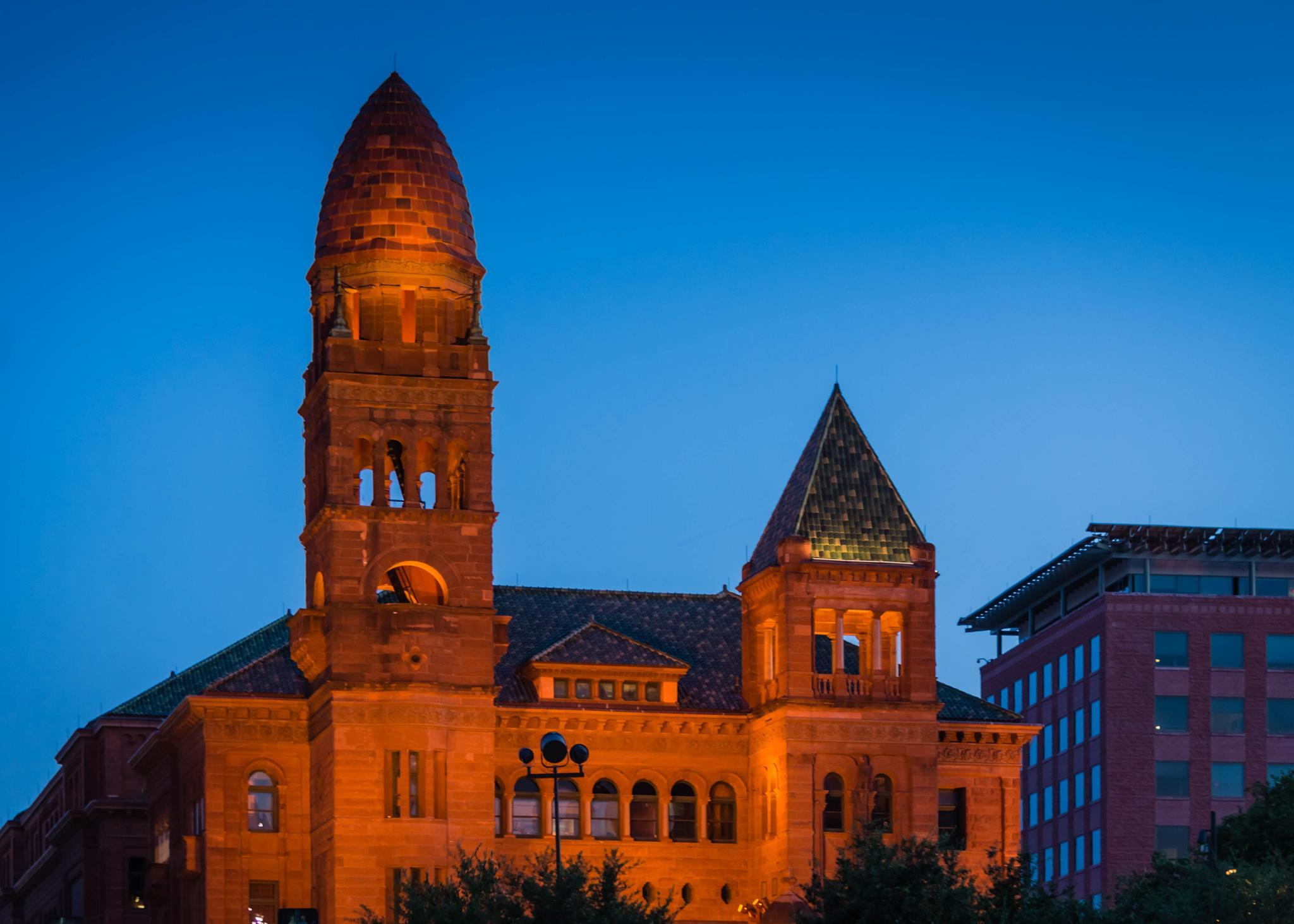 Municipal Courthouse Faces the Setting Sun by Jill Rapley