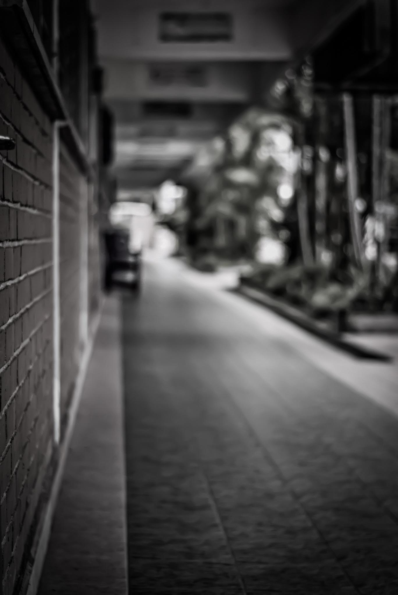 School Corridor by Vance Tan