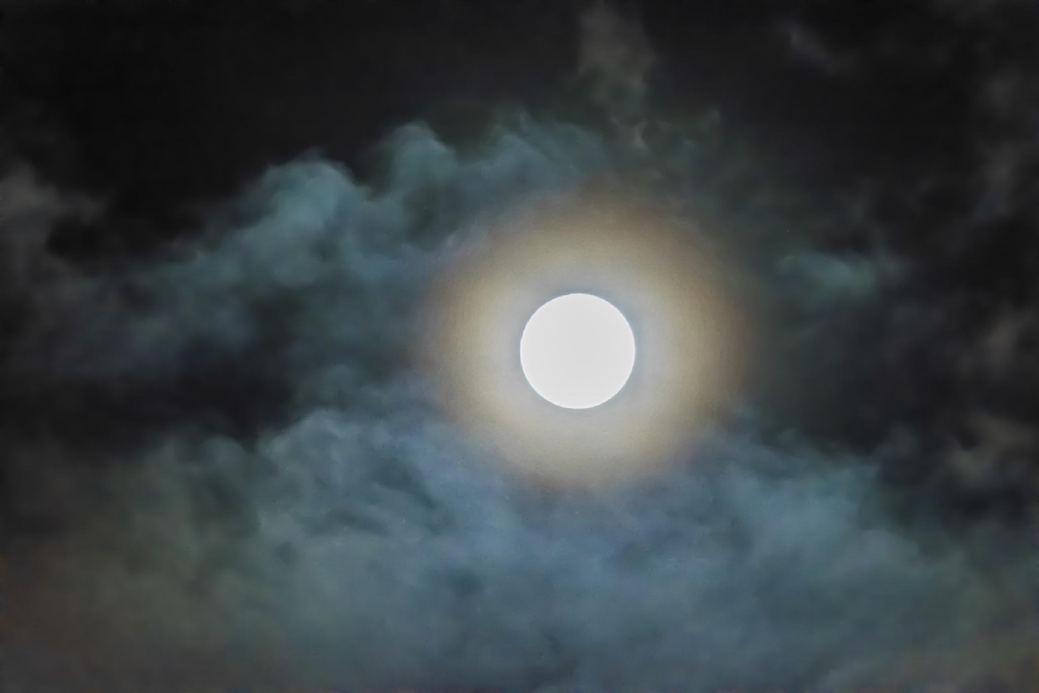 Full Moon Tonight by Vance Tan