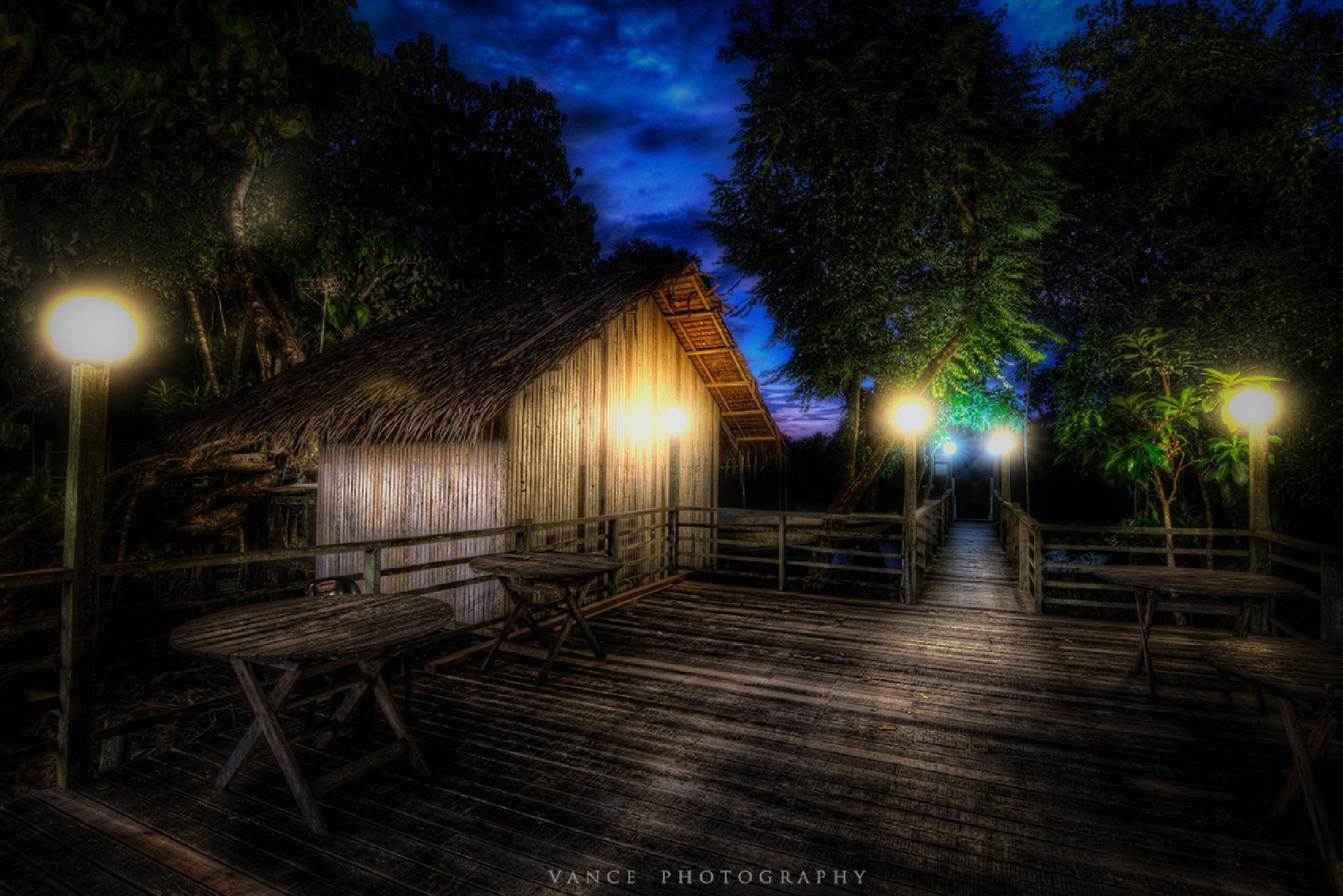 Secret Hut by Vance Tan