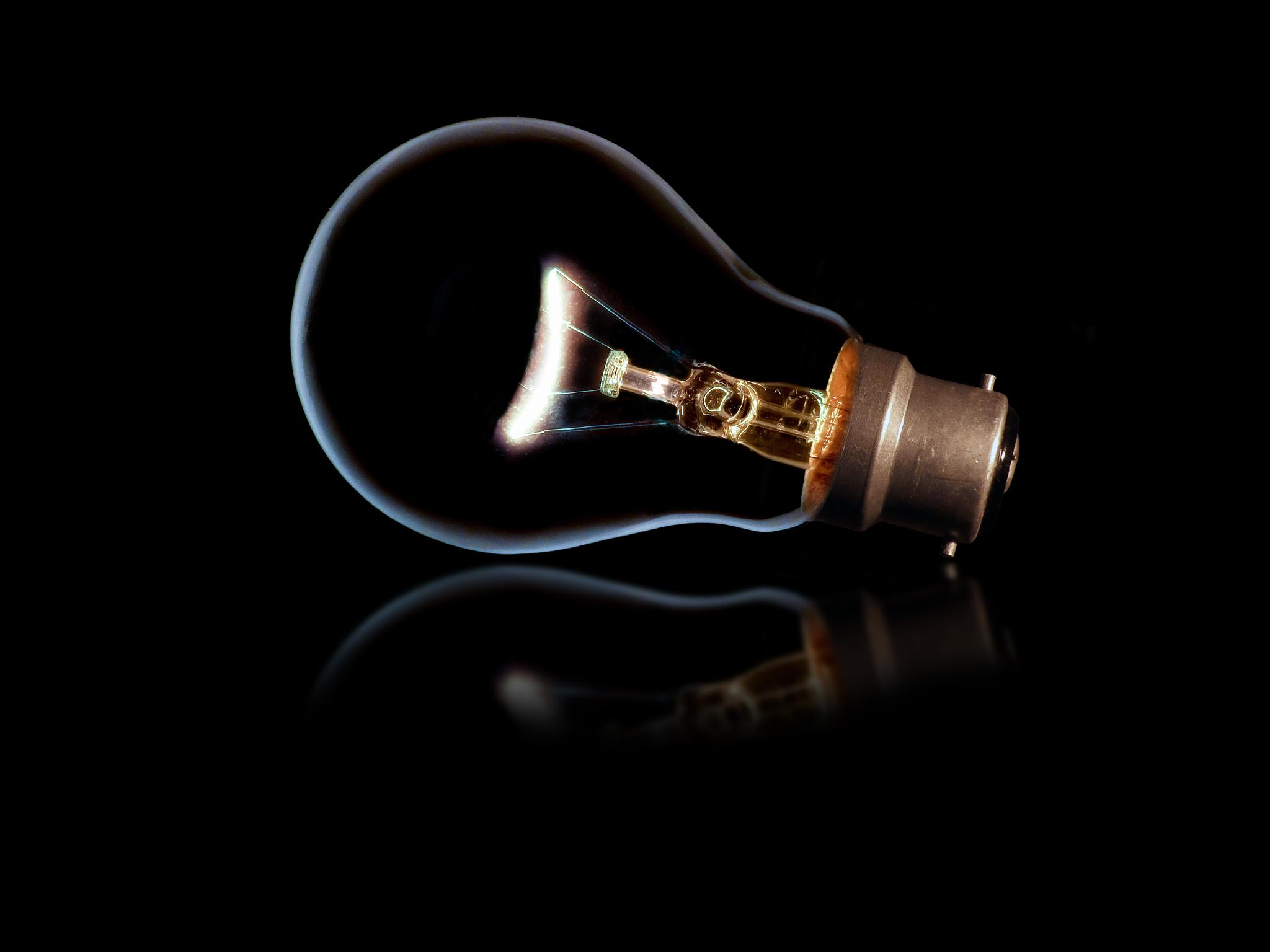 Magical Light Bulb by Reuben Kinny