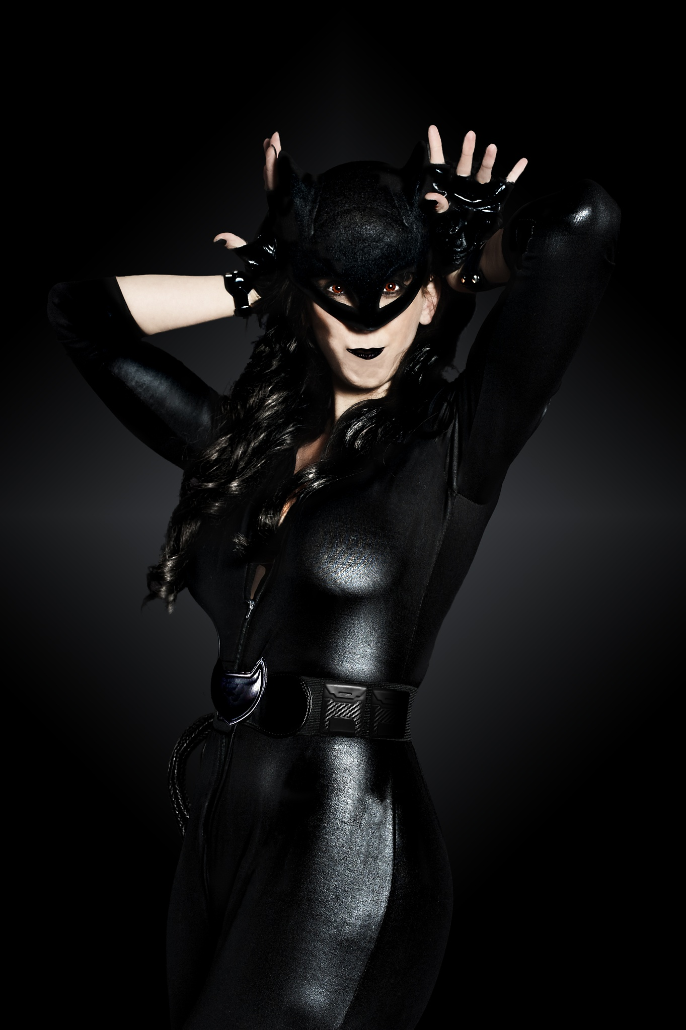 Catwoman... Up close and personal!  by True Love Photography