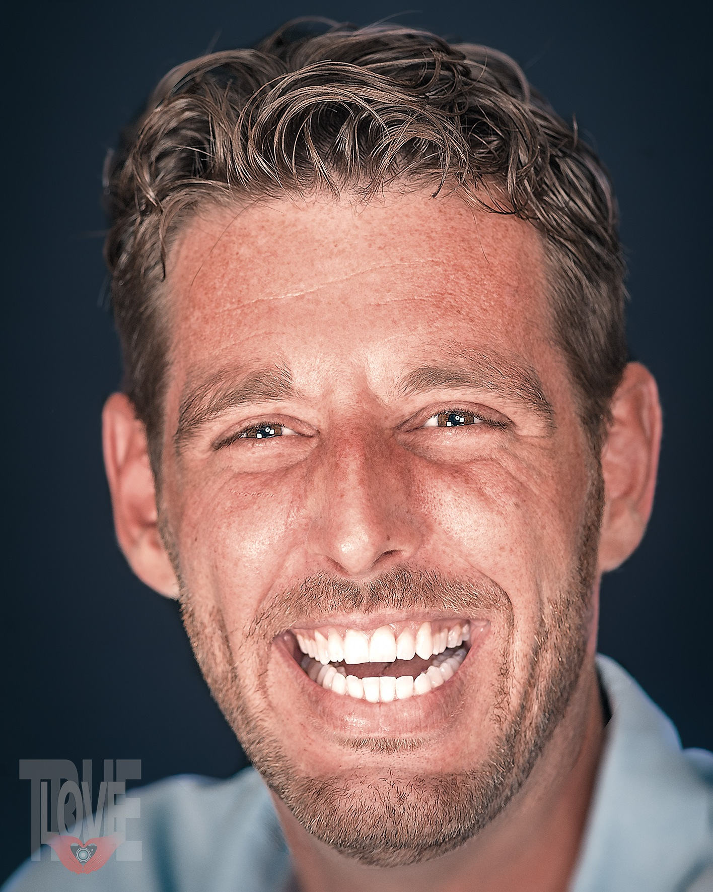 Marc laughing by True Love Photography