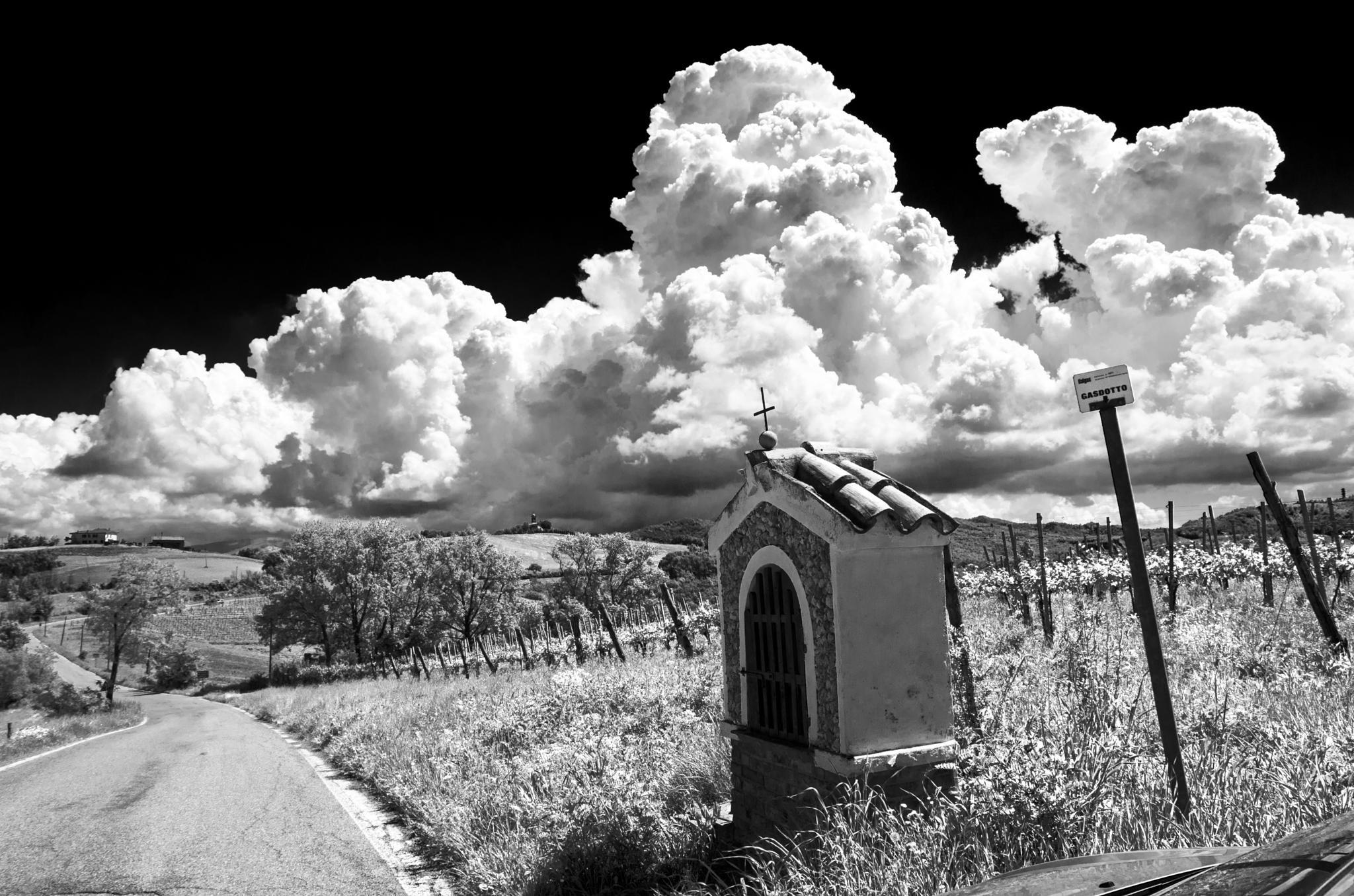 Black sky by Marco Mandirola