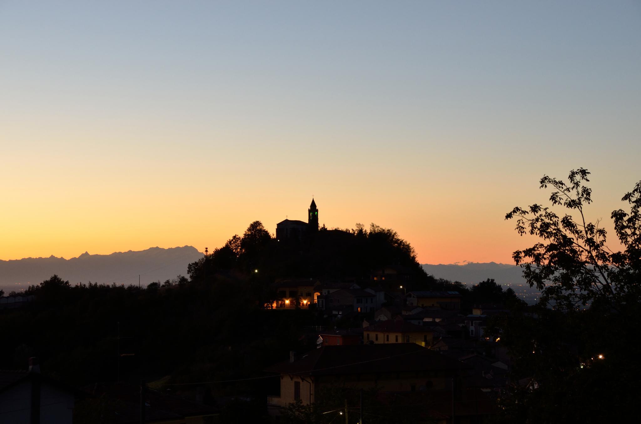 Sunset to Avolasca by Marco Mandirola