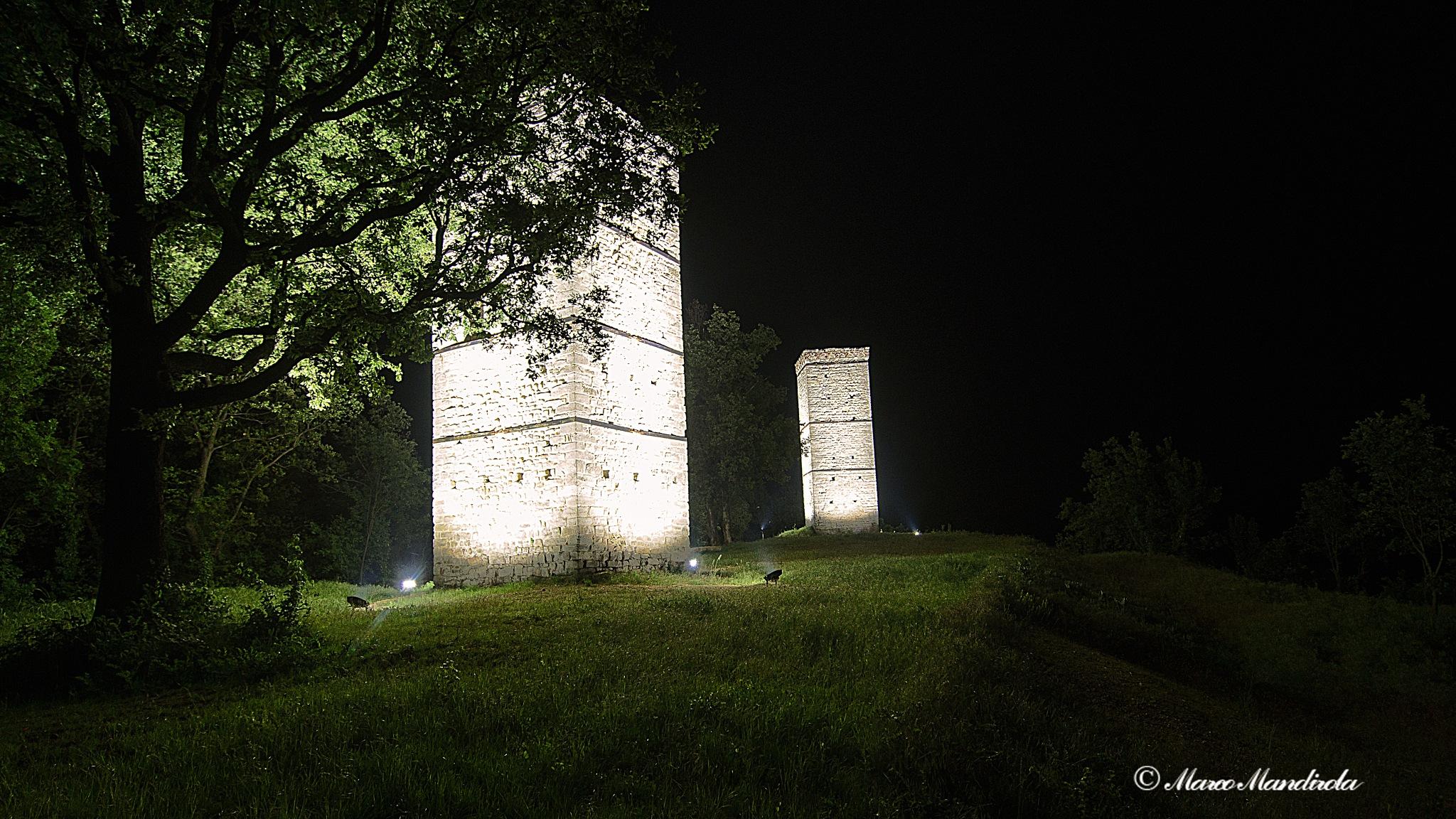 Tower night  by Marco Mandirola