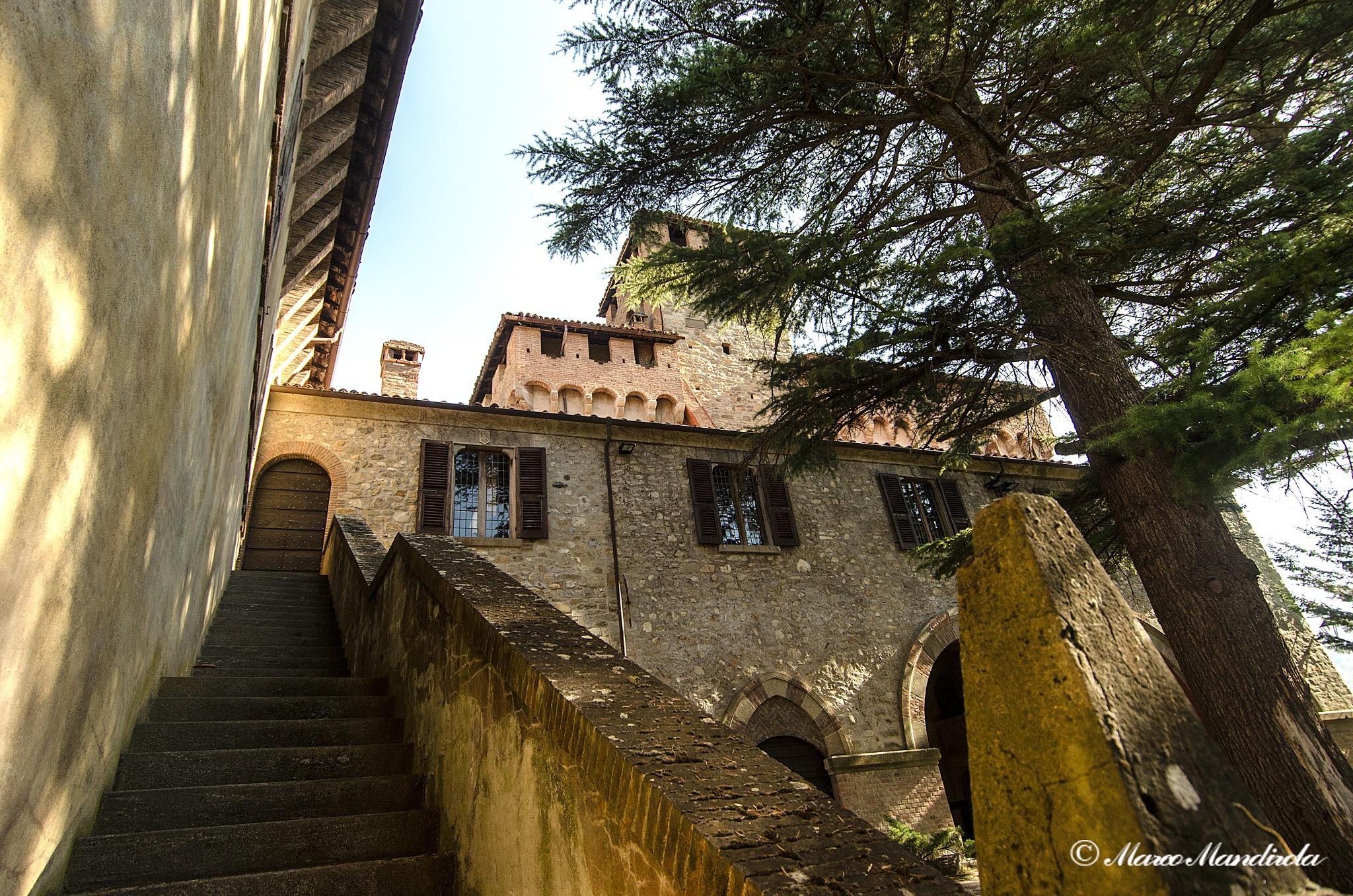 Brignano Frascata Castle by Marco Mandirola
