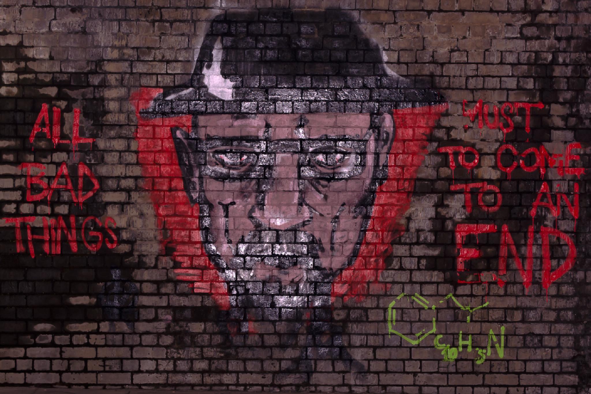 Graffiti by David Foster Barnes