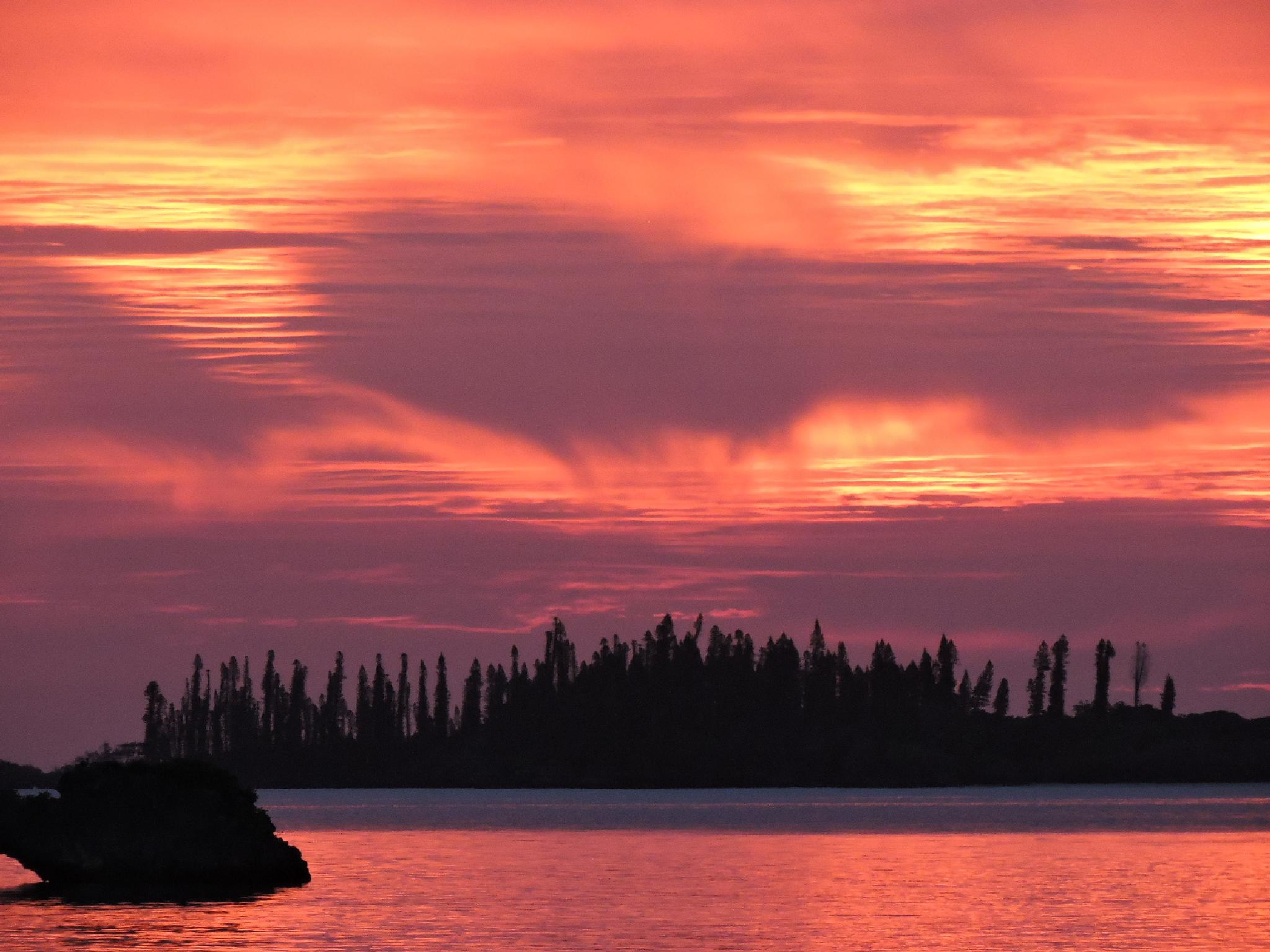 Mystical Sunset by iezalel williams