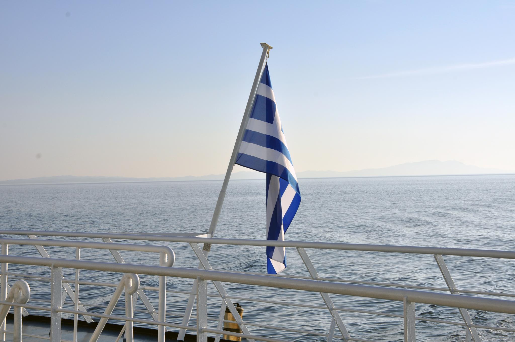 Traghetto per la Grecia by Umberto Fontana