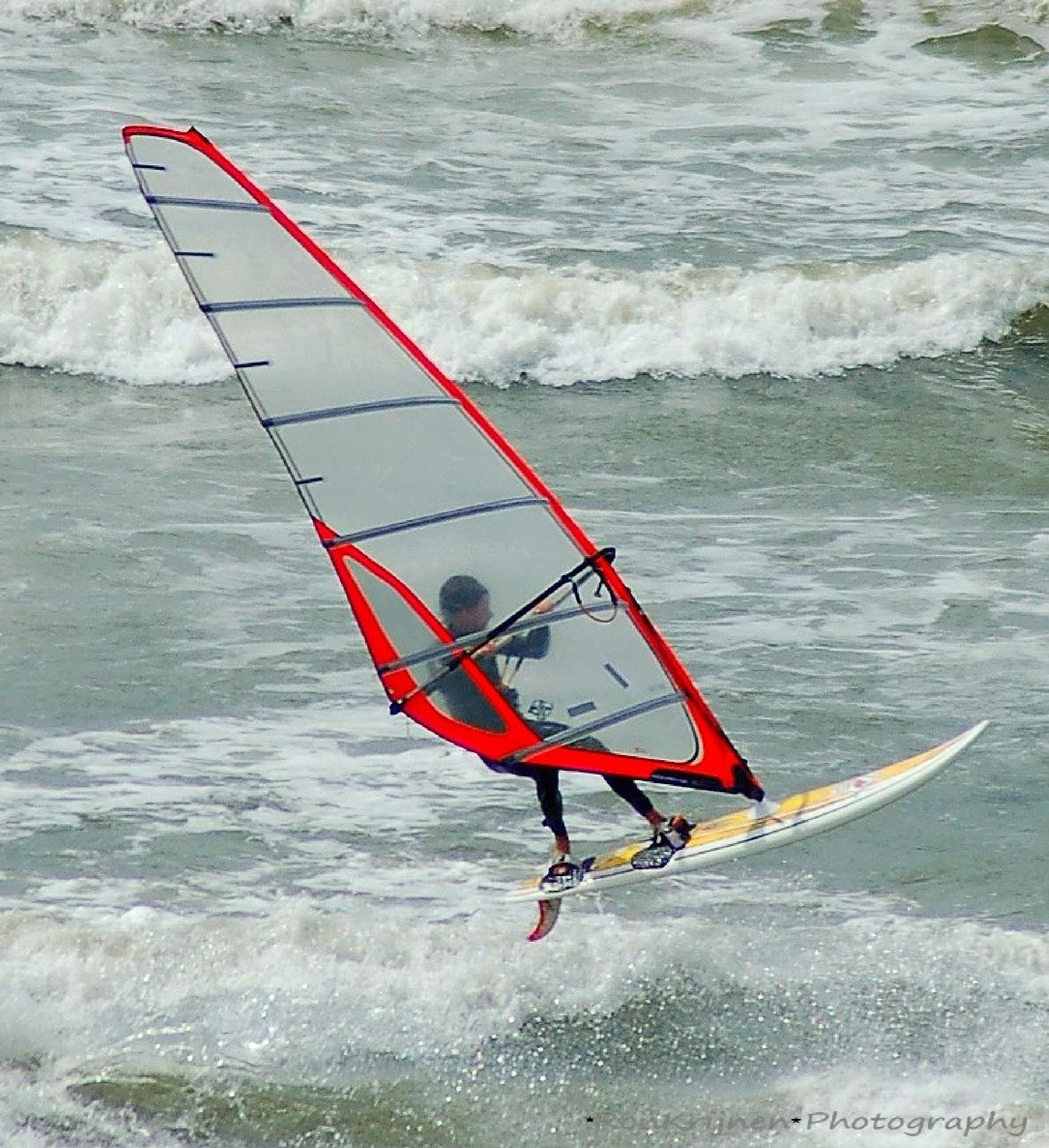 windsurfing by ron.krijnen