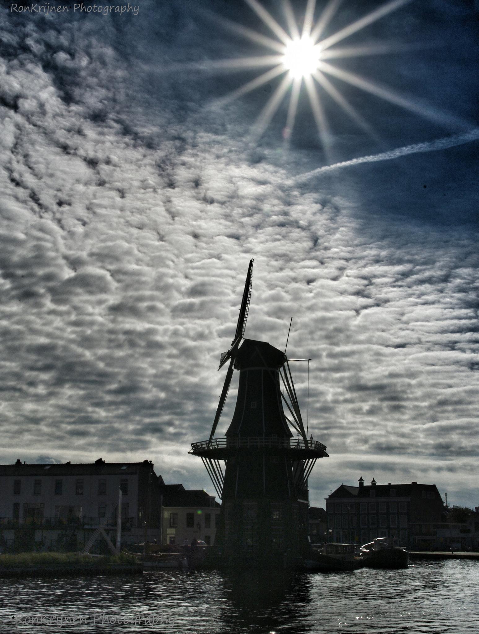 Mill de Adriaan Haarlem by ron.krijnen