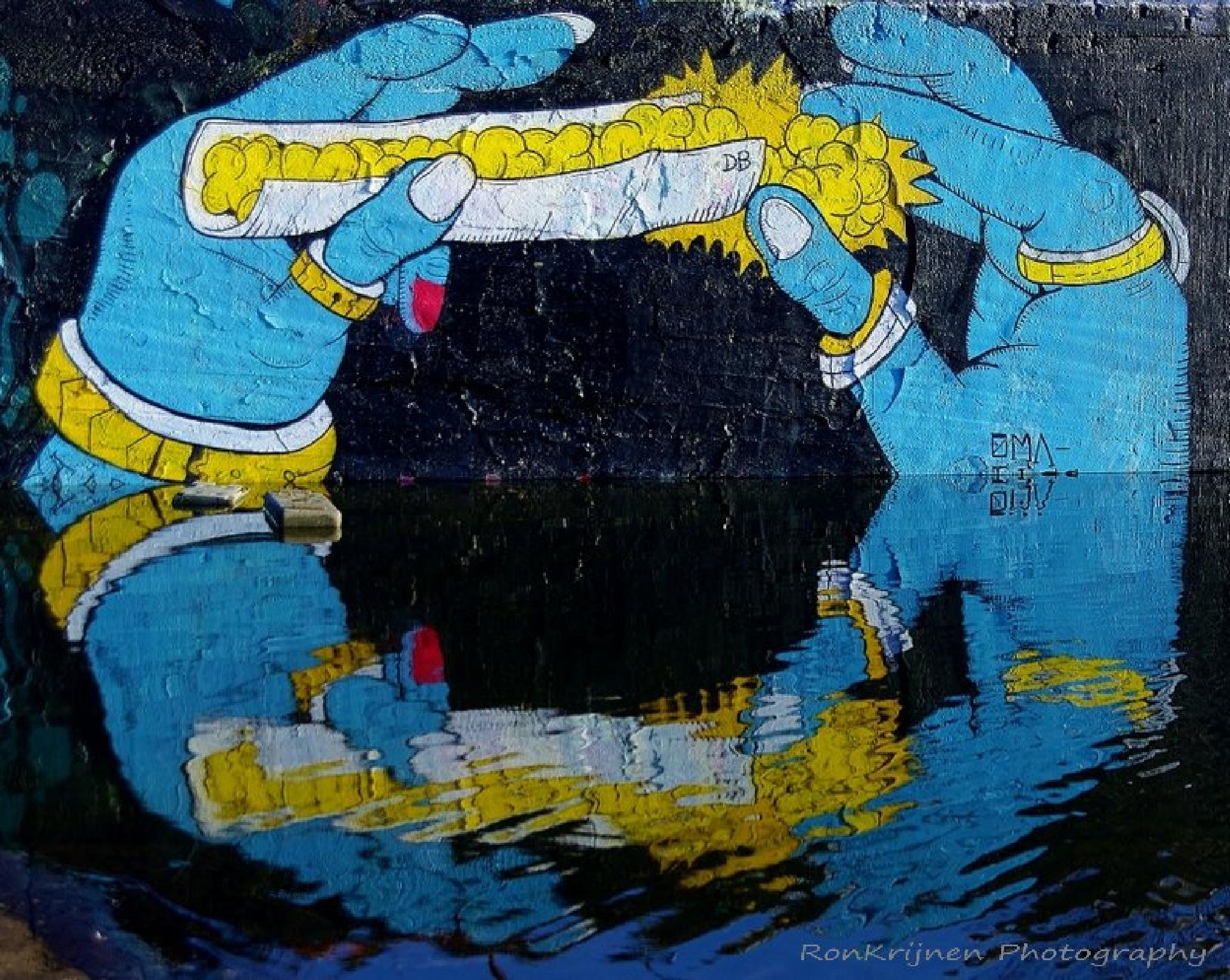 graffiti 1 by ron.krijnen