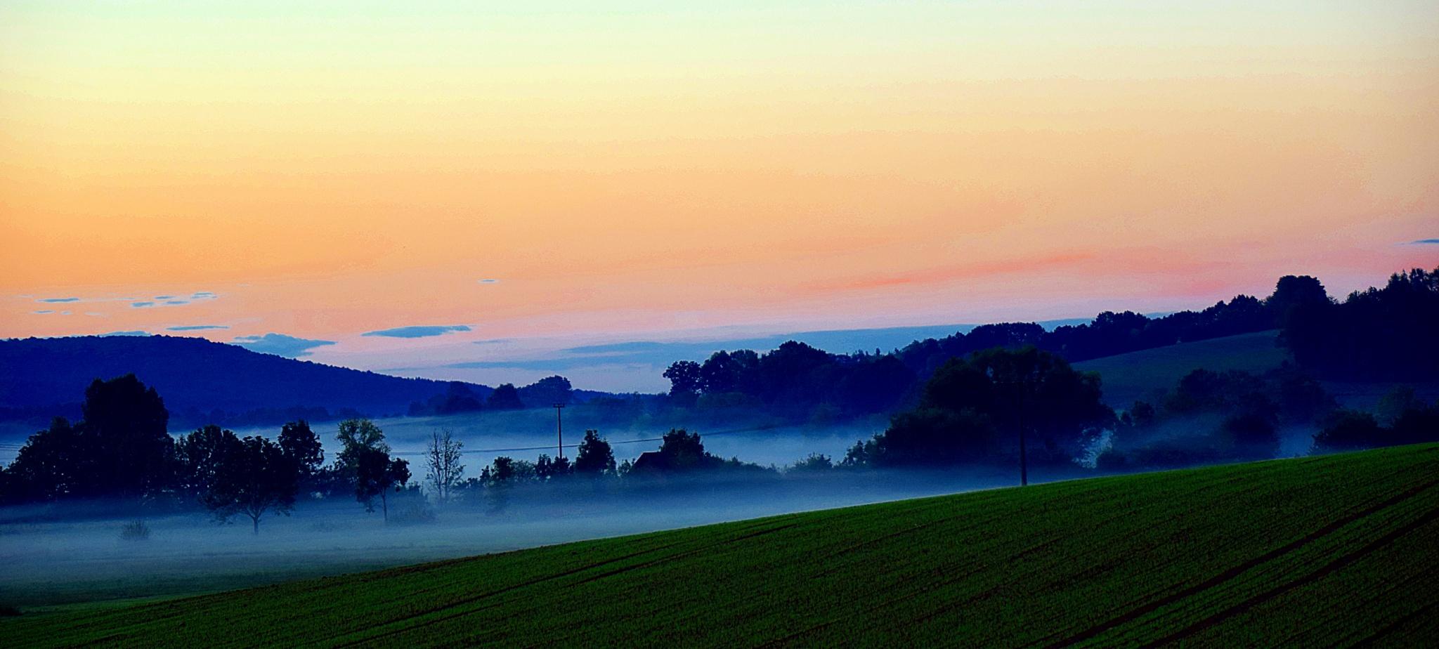 Baunach Fairy Sunrise by CyclingRik