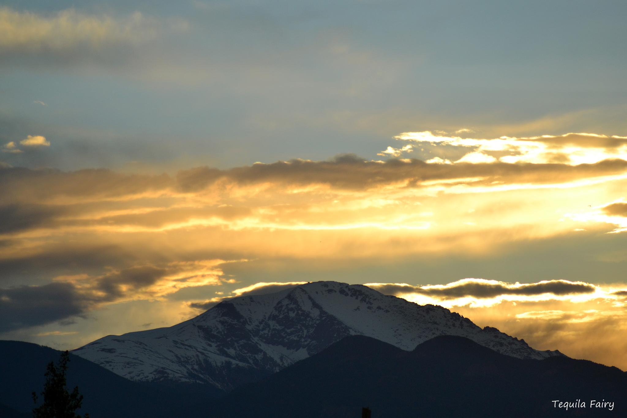 Pikes Peak by K.Ezell