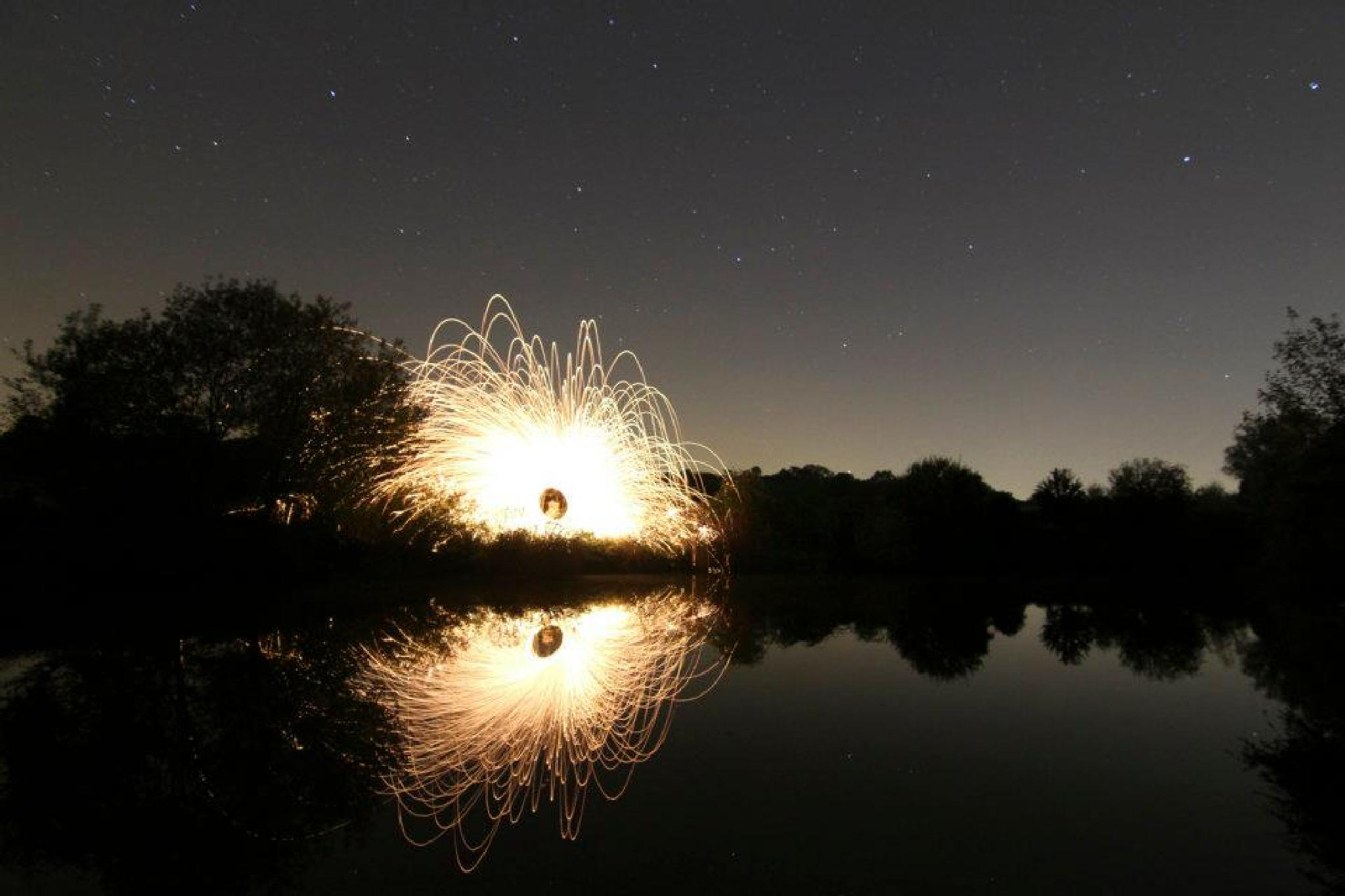 Lightpainting by nicole.wetzels