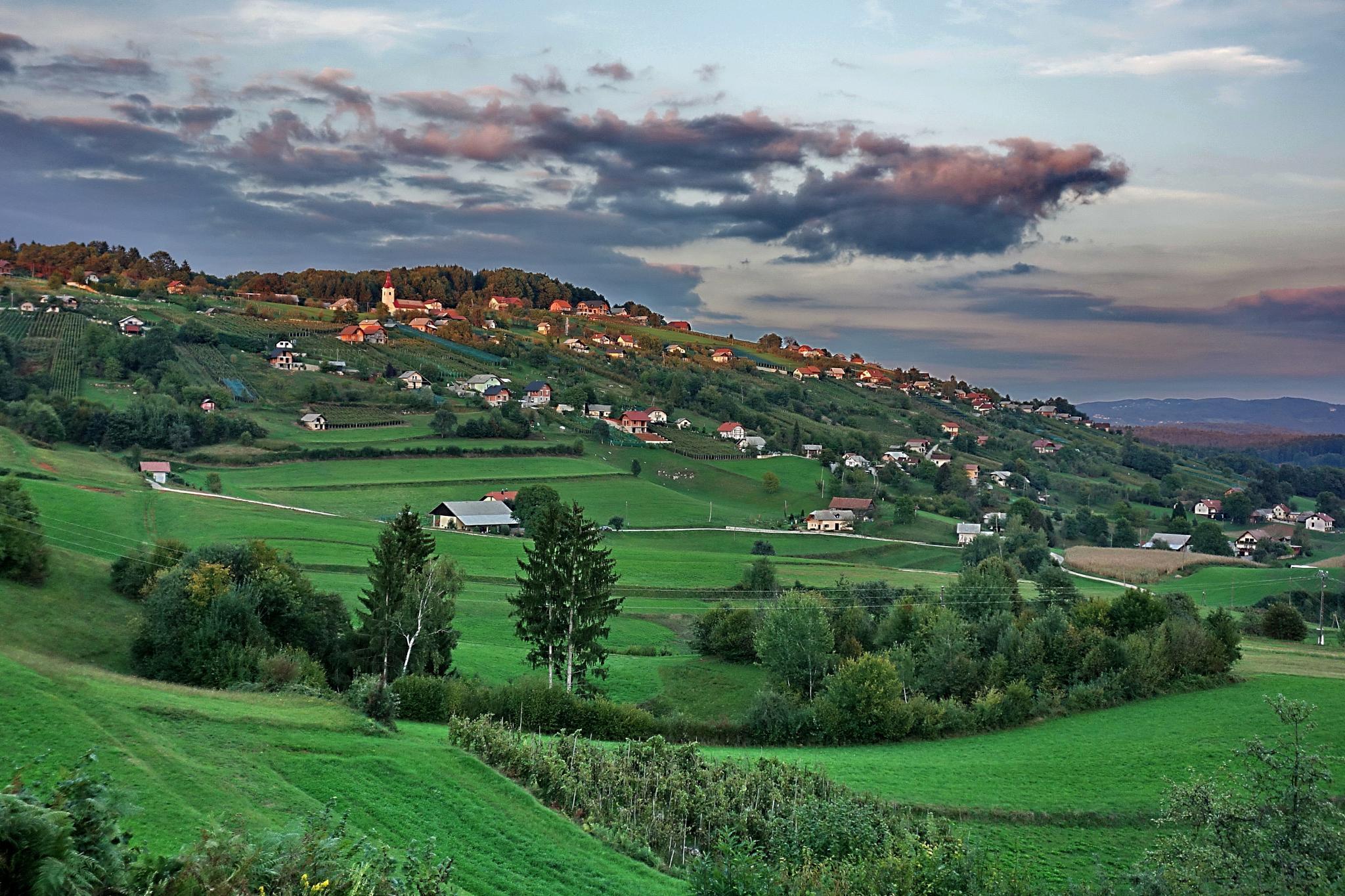 Dolenjska region, Slovenia by BernardaBizjak