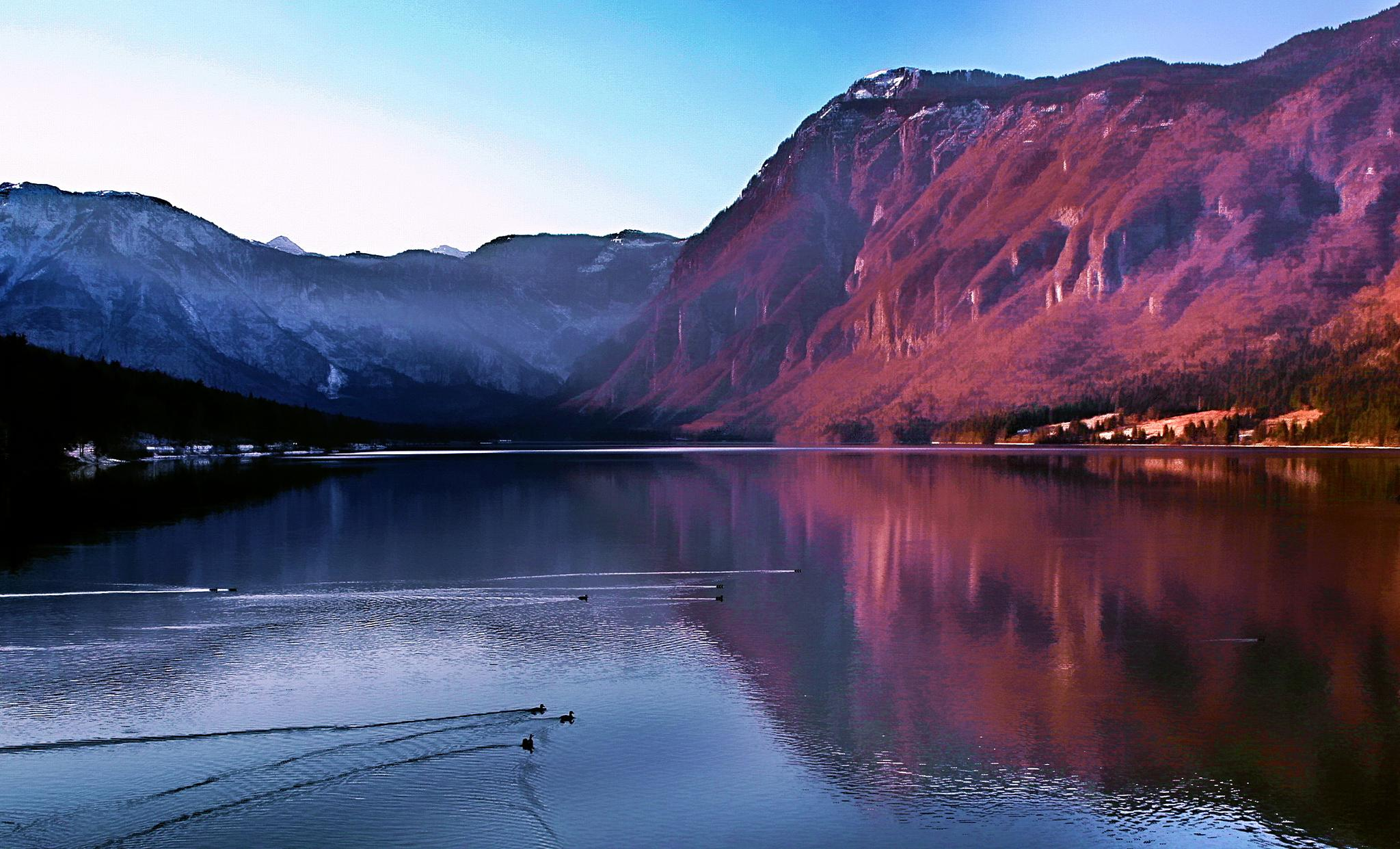 Bohinjsko jezero - Bohinj Lake by BernardaBizjak