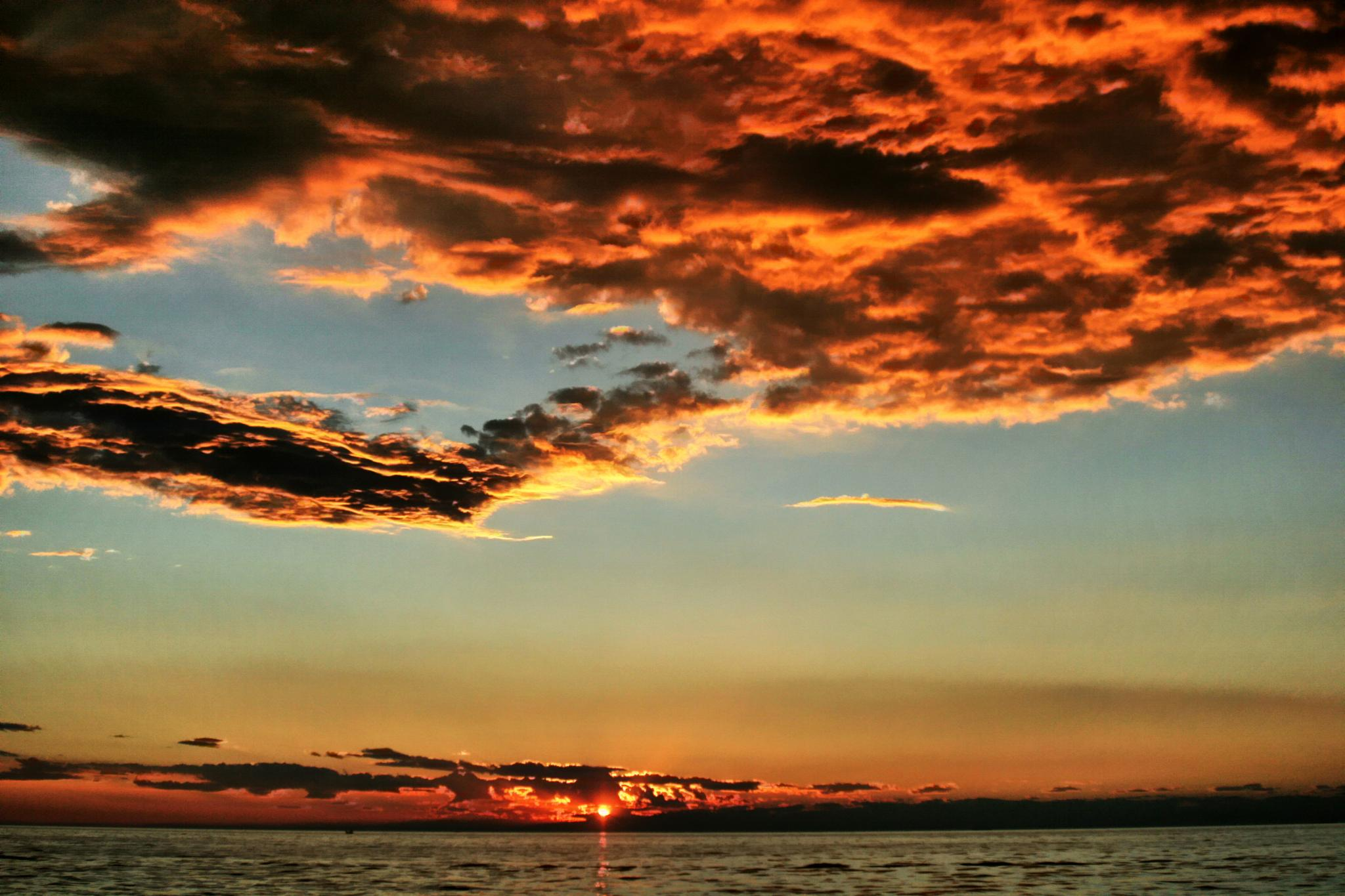 Izola sunset by BernardaBizjak