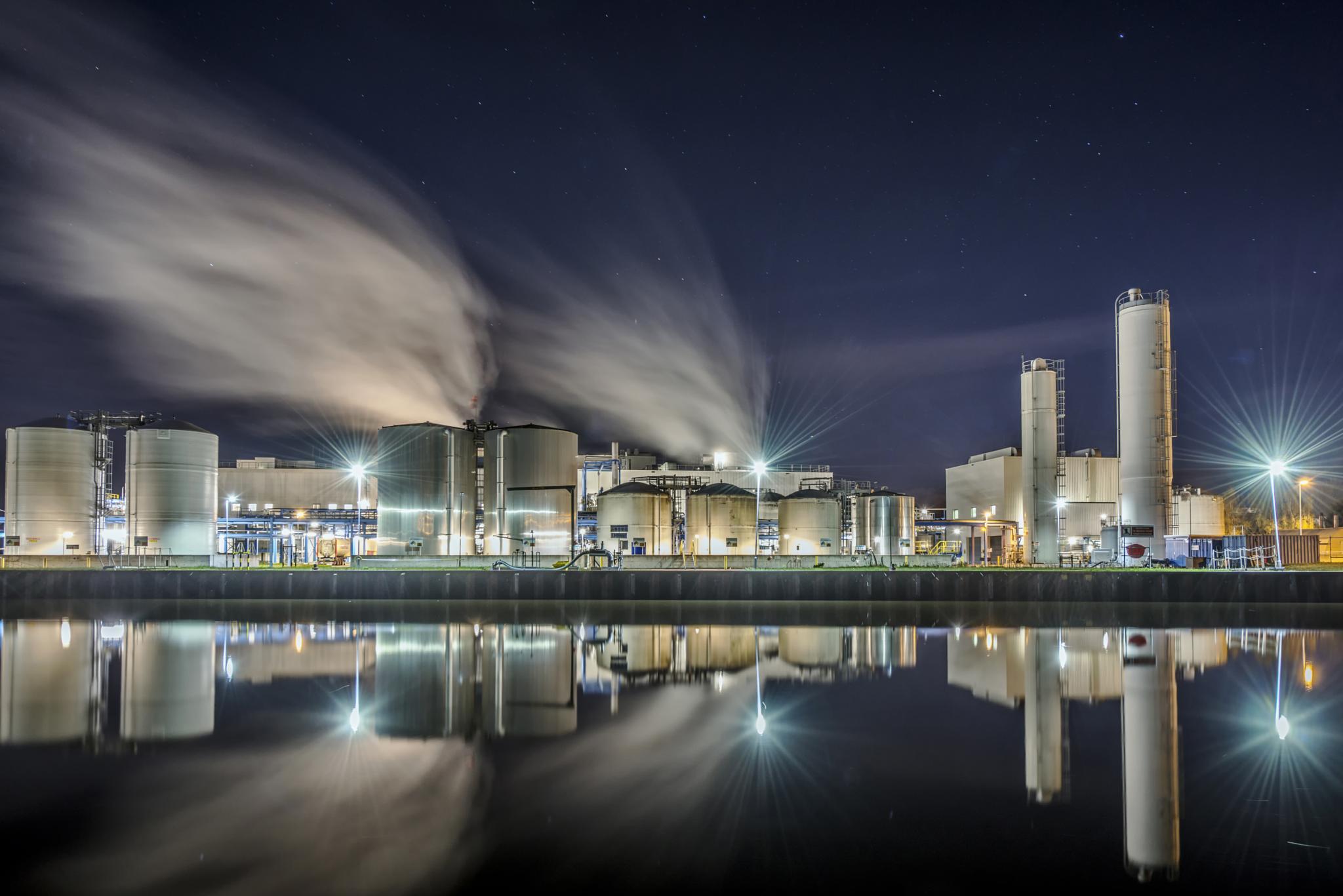 Industrial reflections by R van Wijk