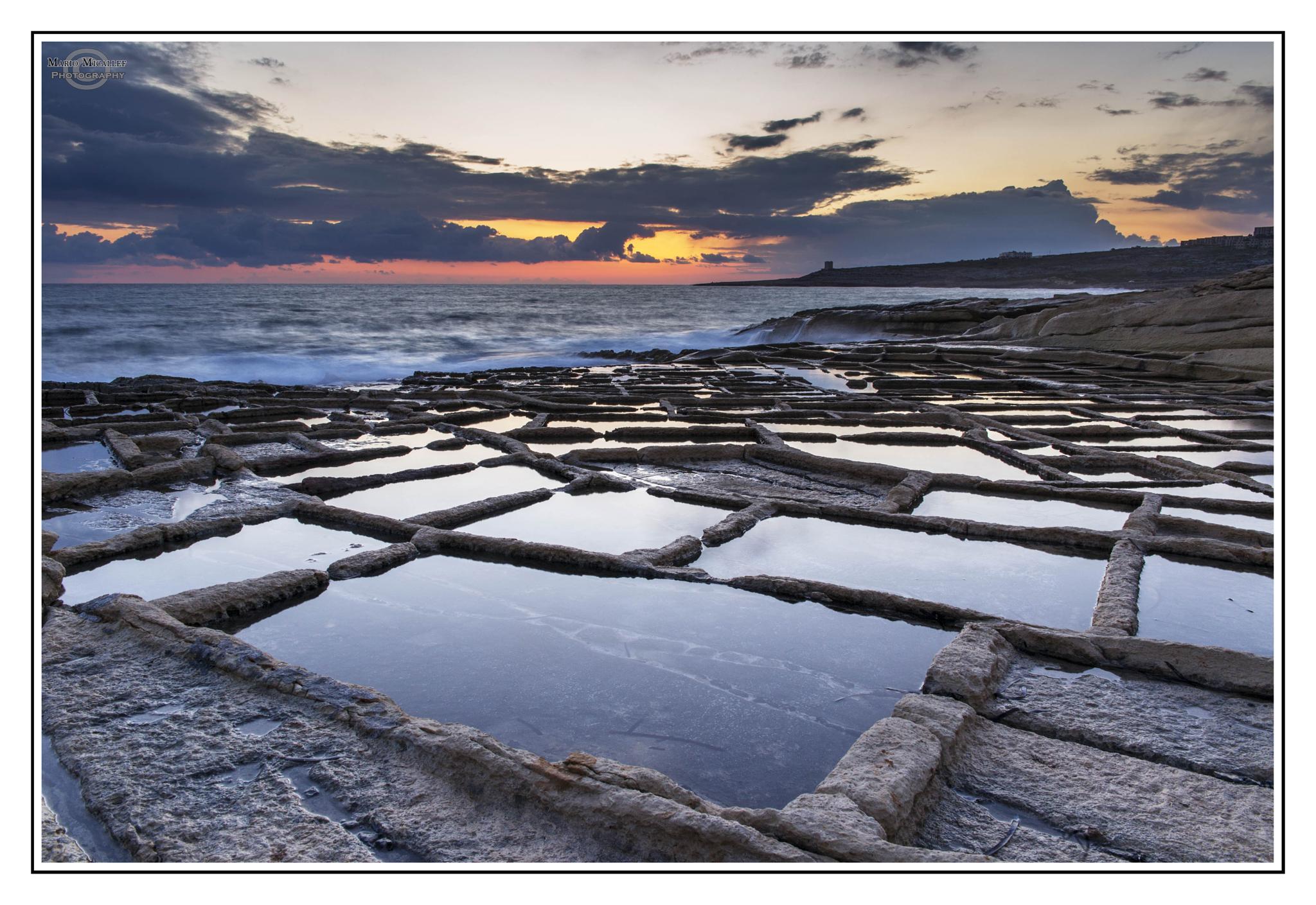 Salt Pen Sunrise by mario.micallef.568