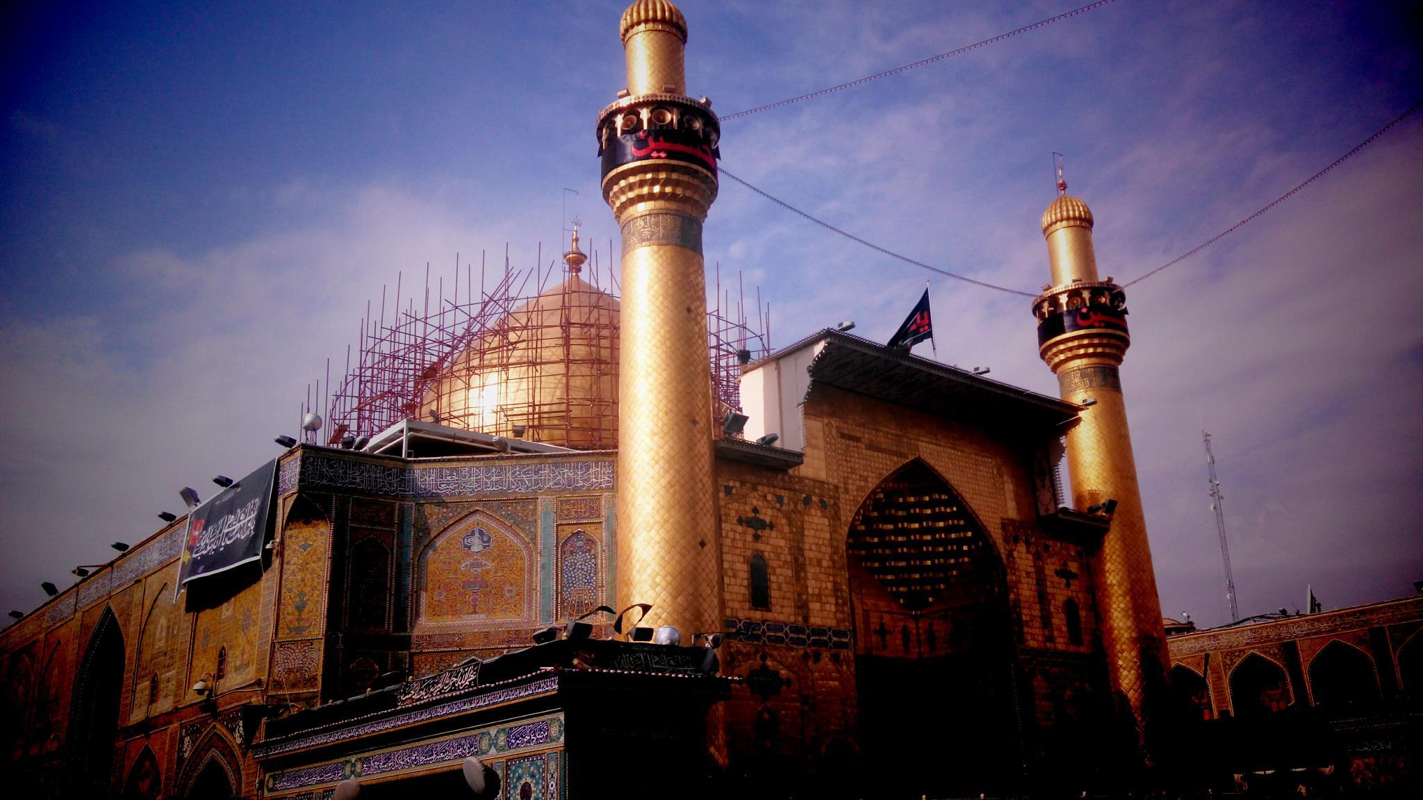 Imam Ali shrine by Mahdi Ebrahimi