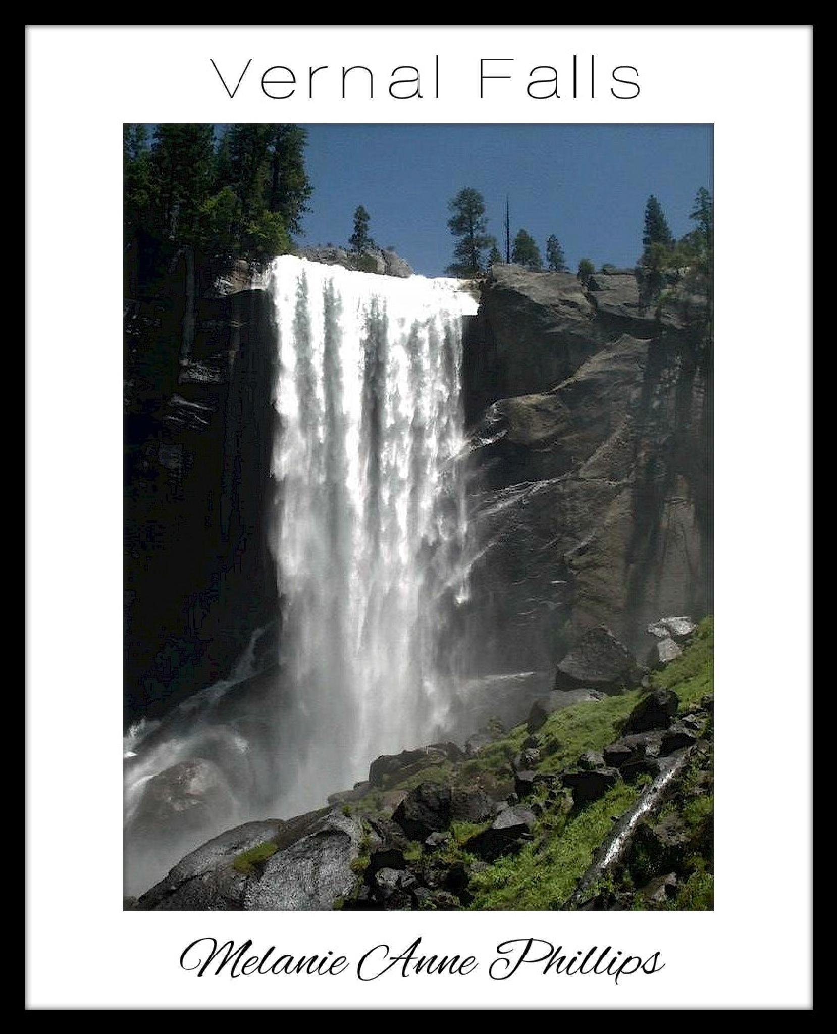 Vernal Falls by MelanieAnnePhillips