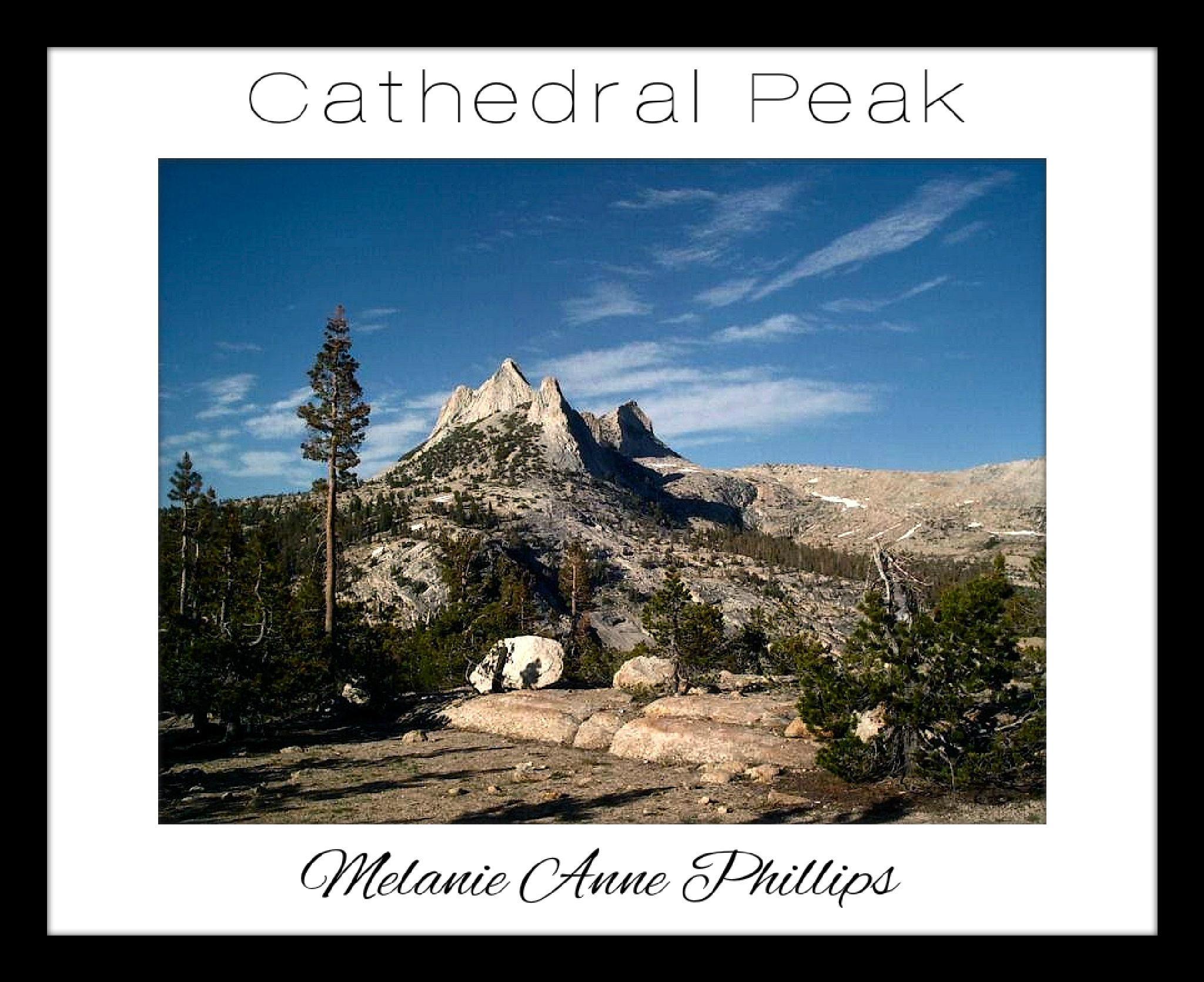 Cathedral Peak by MelanieAnnePhillips