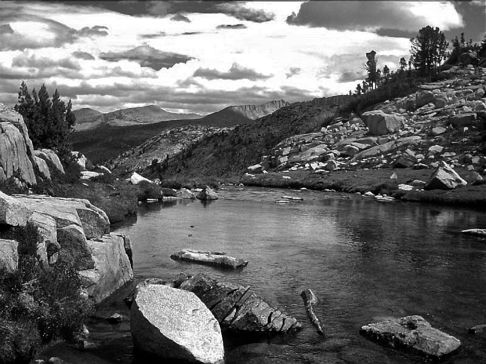 Lyell Canyon, Yosemite by MelanieAnnePhillips