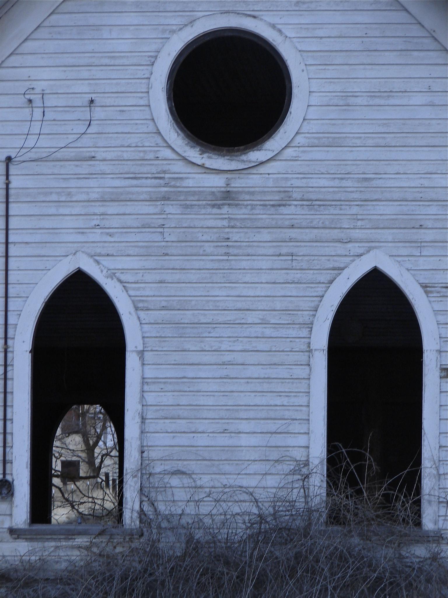 Abandoned Church by MelanieAnnePhillips