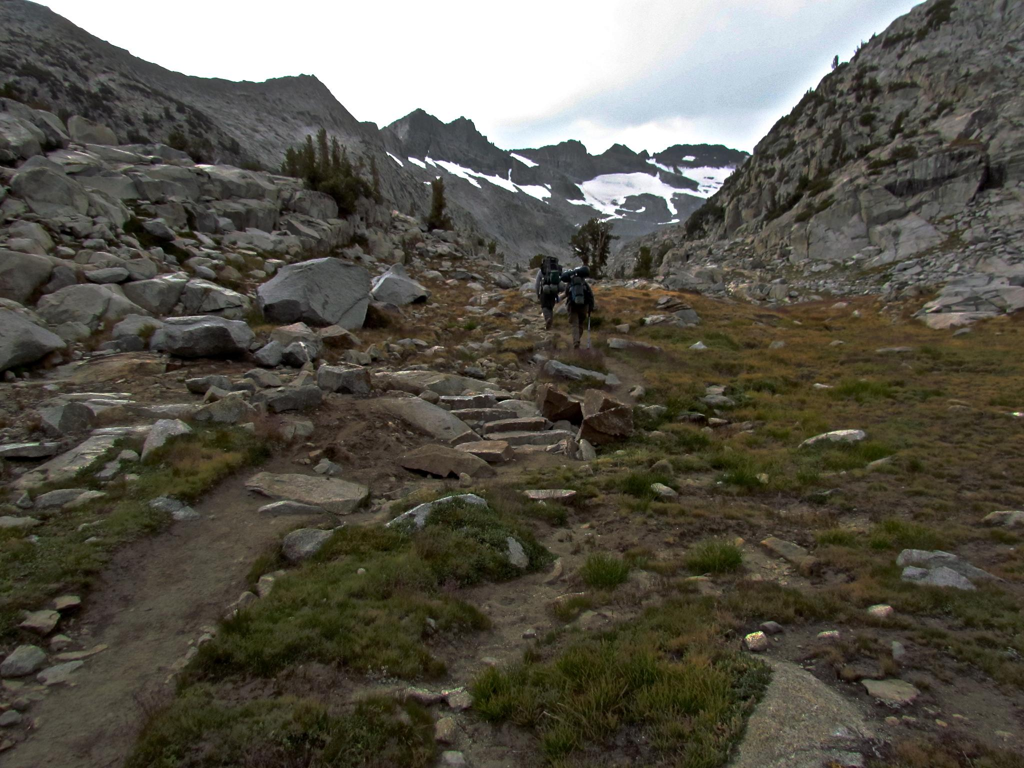 Closing in on Lyell Glacier by MelanieAnnePhillips