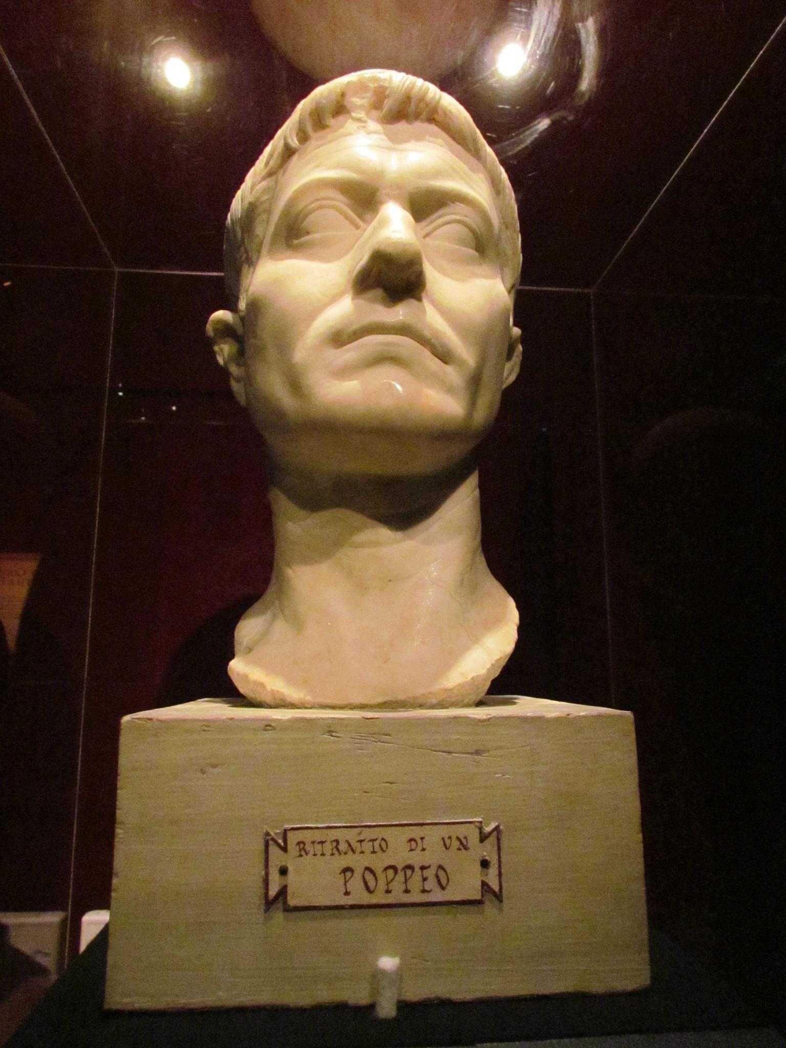 At the Pompeii Exhibit by MelanieAnnePhillips