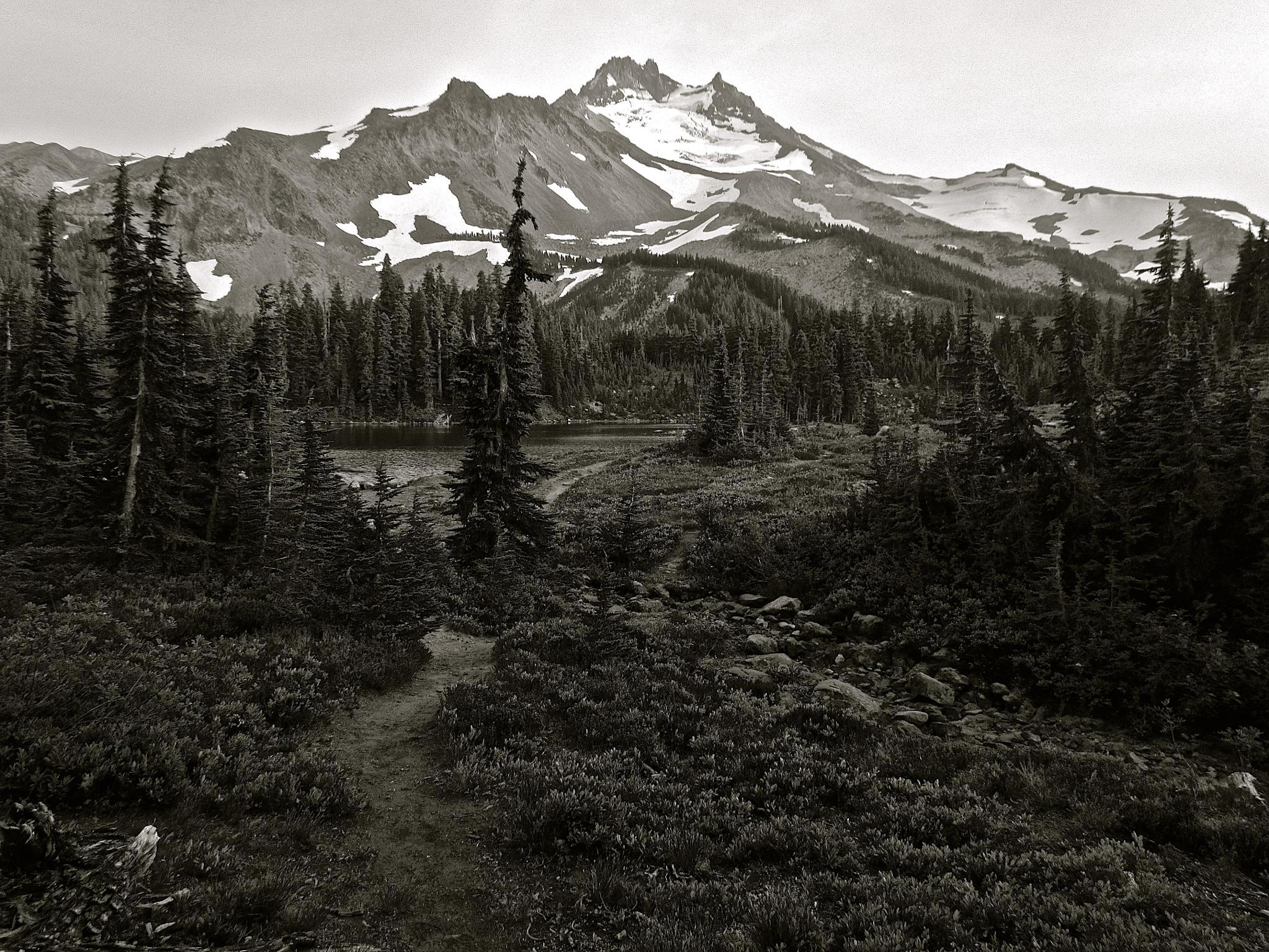 Mount Jefferson, Oregon by MelanieAnnePhillips