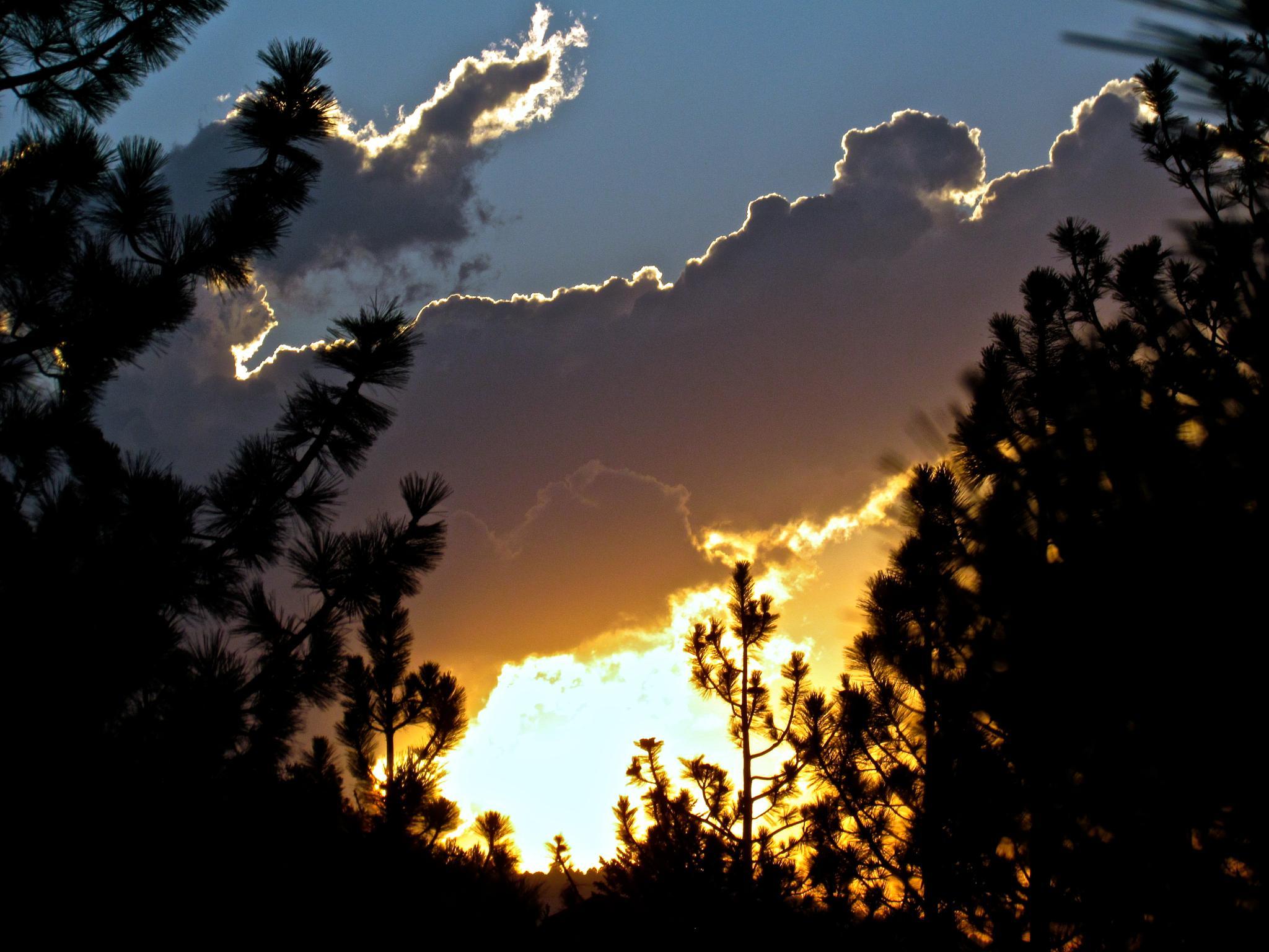Sunset in Pine Mountain Club by MelanieAnnePhillips