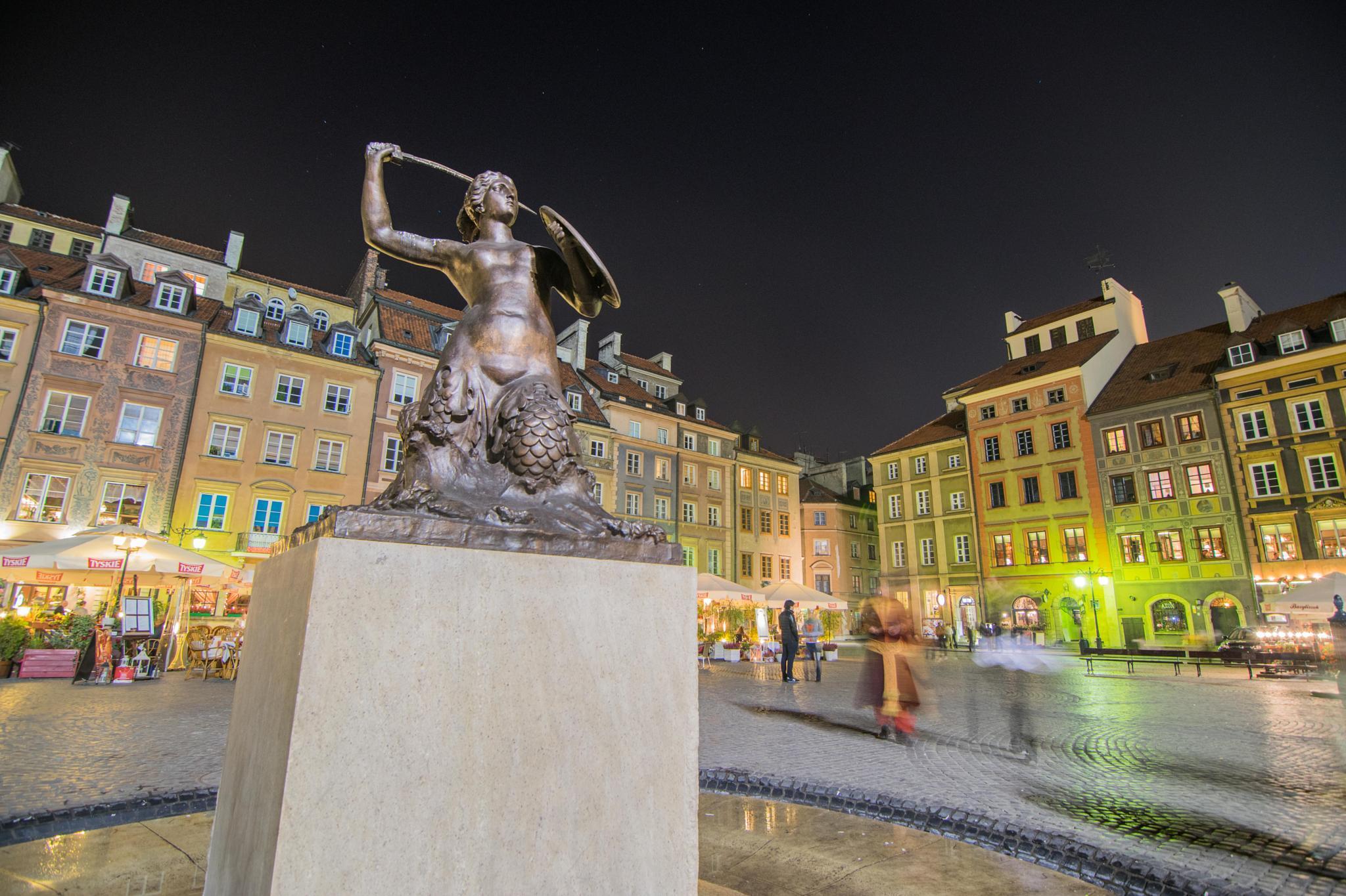 Warsaw's Mermaid by akryza