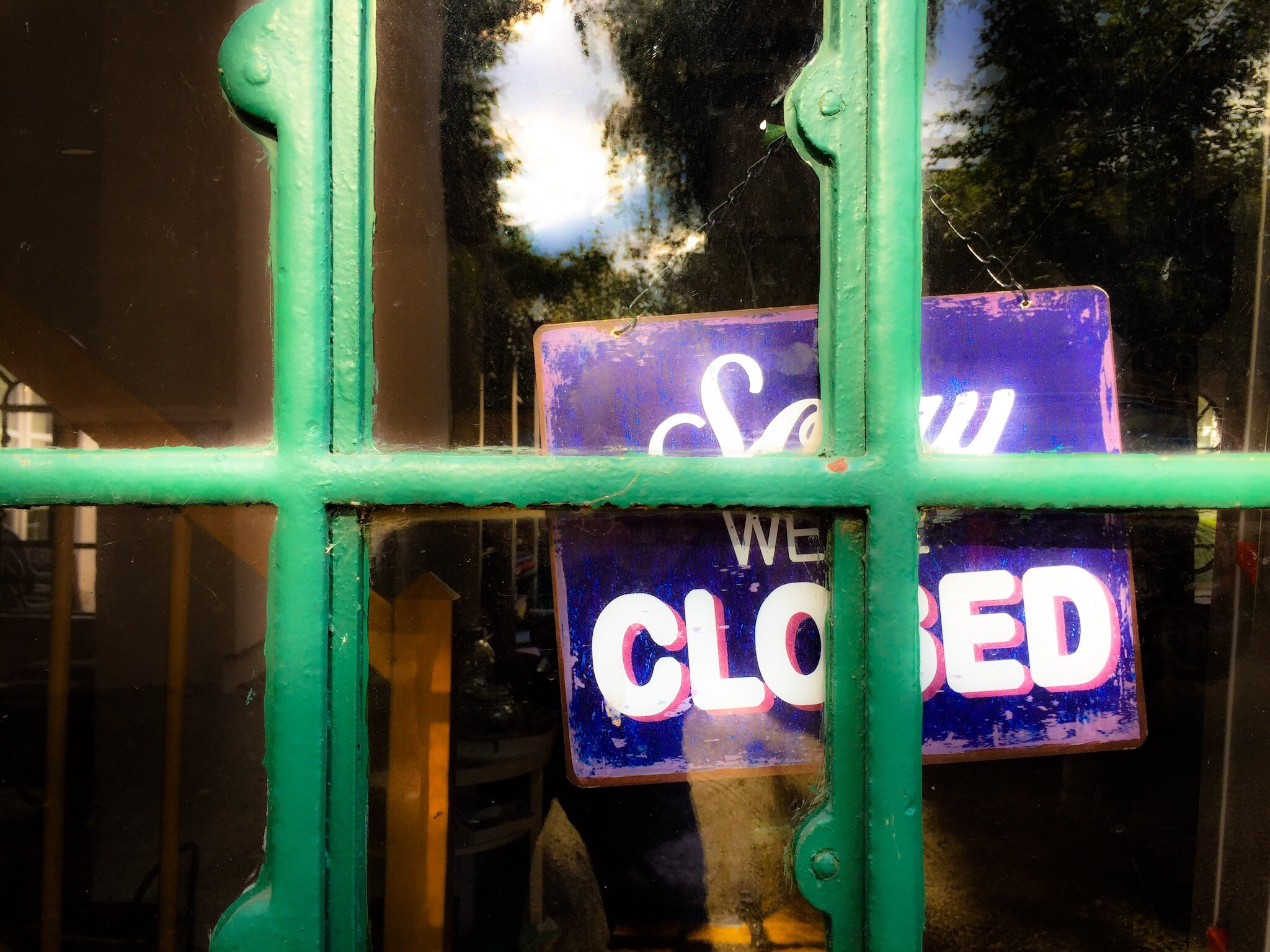 Sorry we are closed by Harry Schäfer