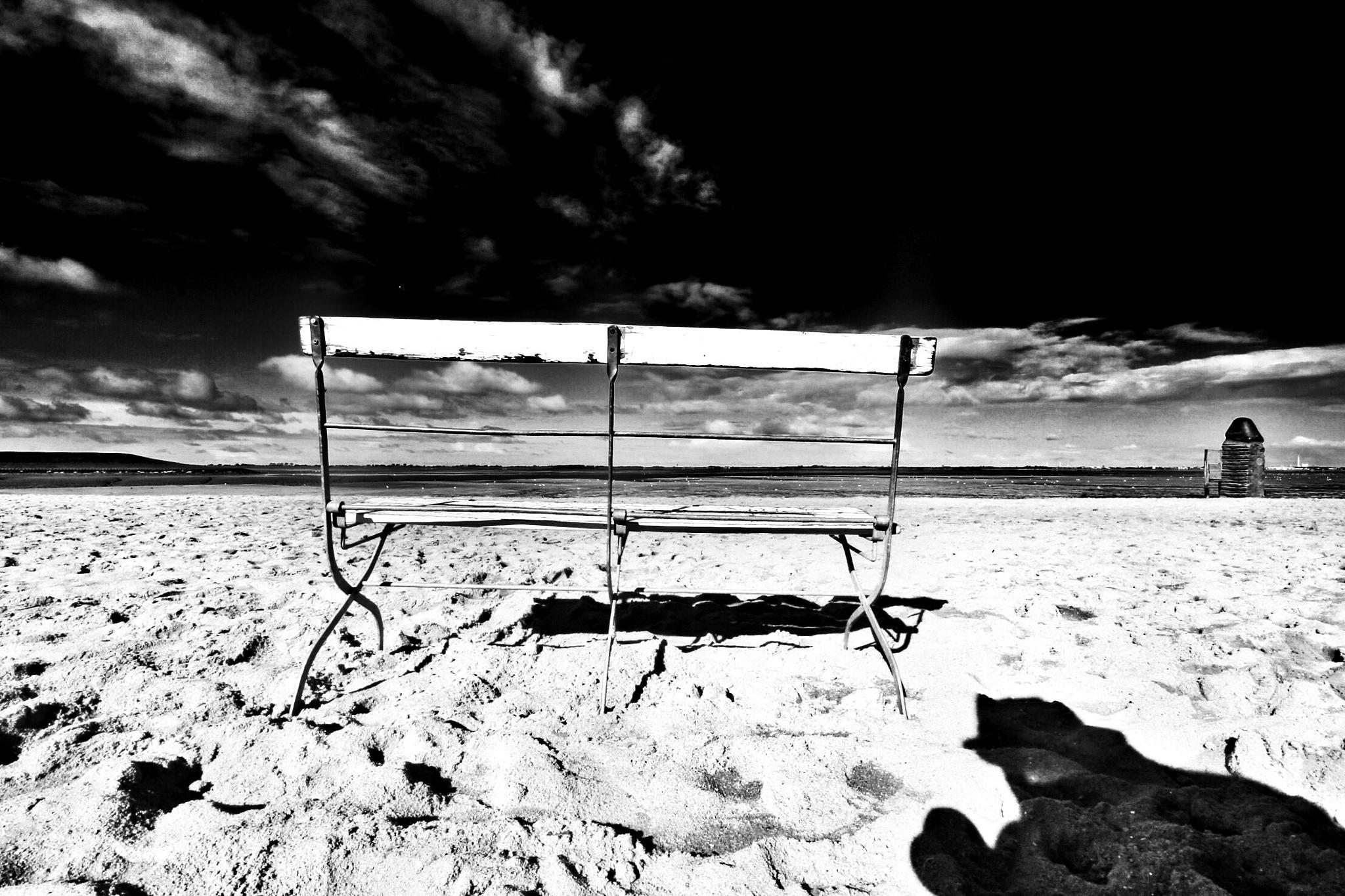 Alone In Dangast by Harry Schäfer