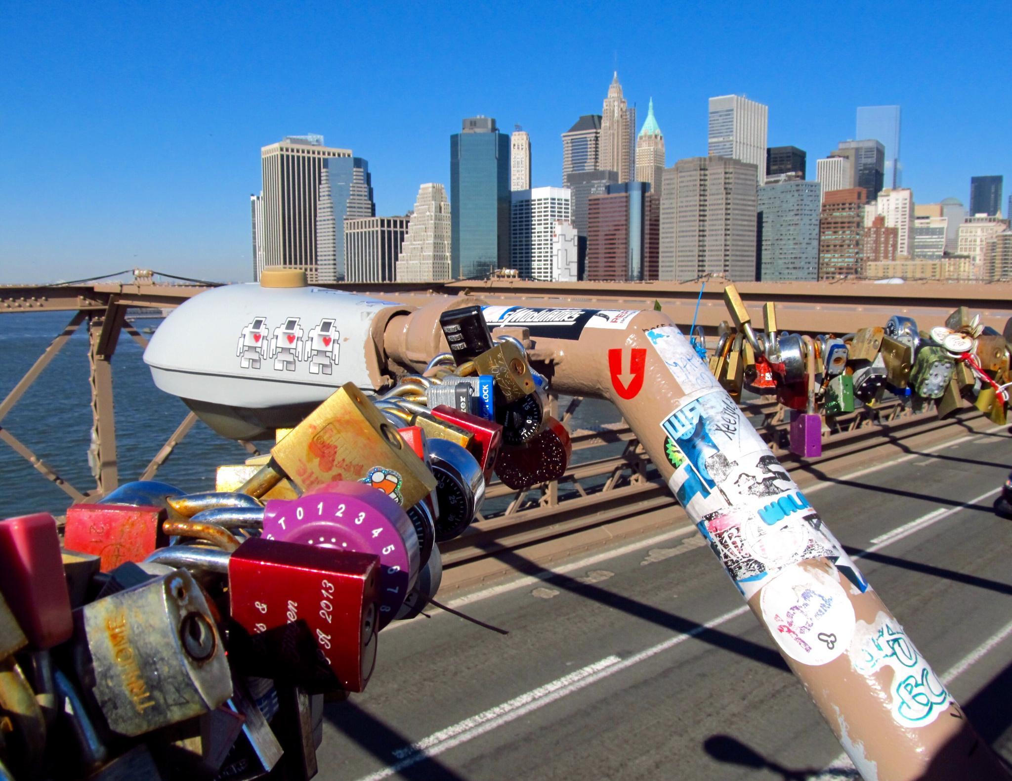 NYC Brooklyn Bridge by Harry Schäfer