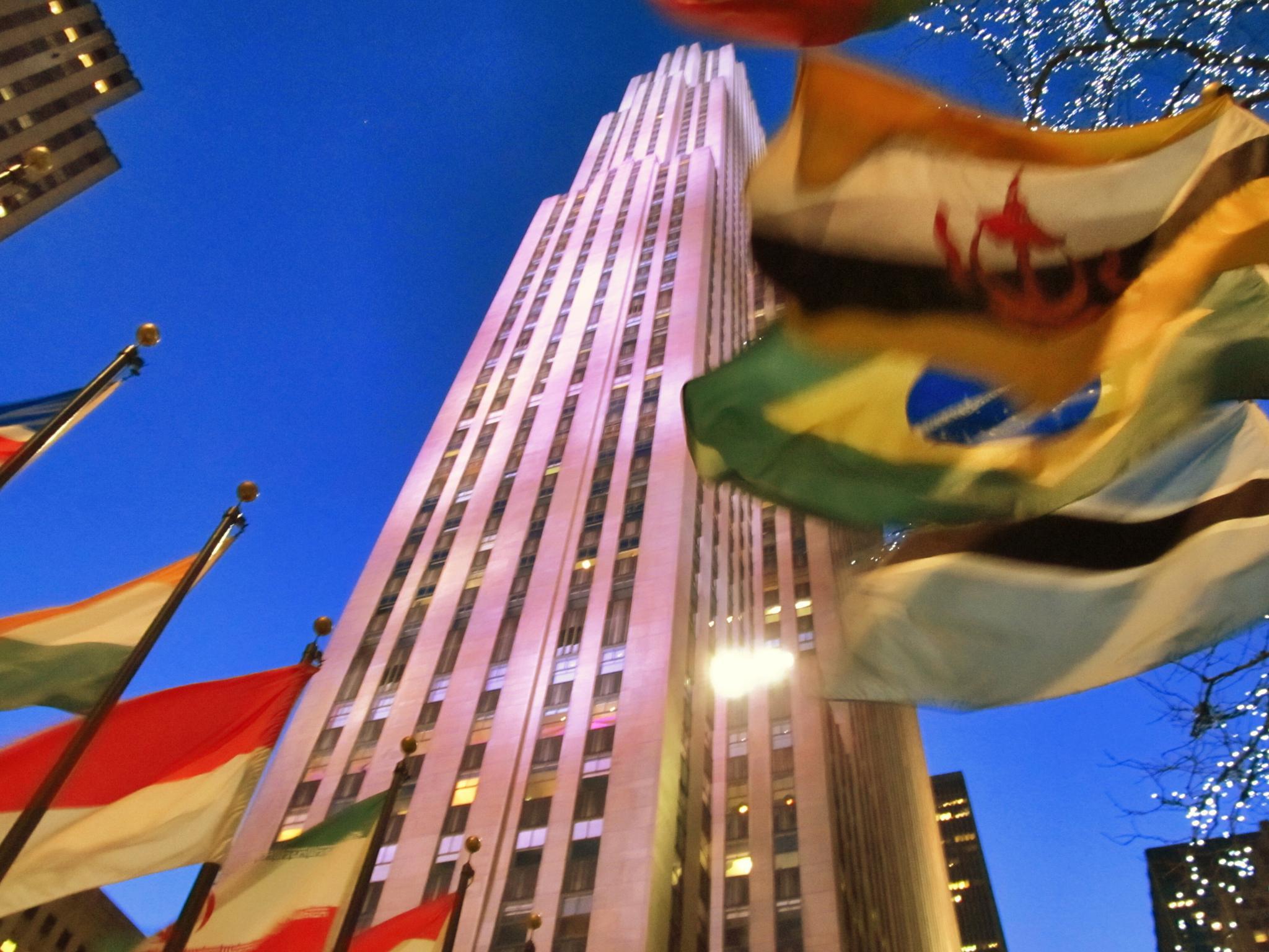 Rockefeller Center by Harry Schäfer