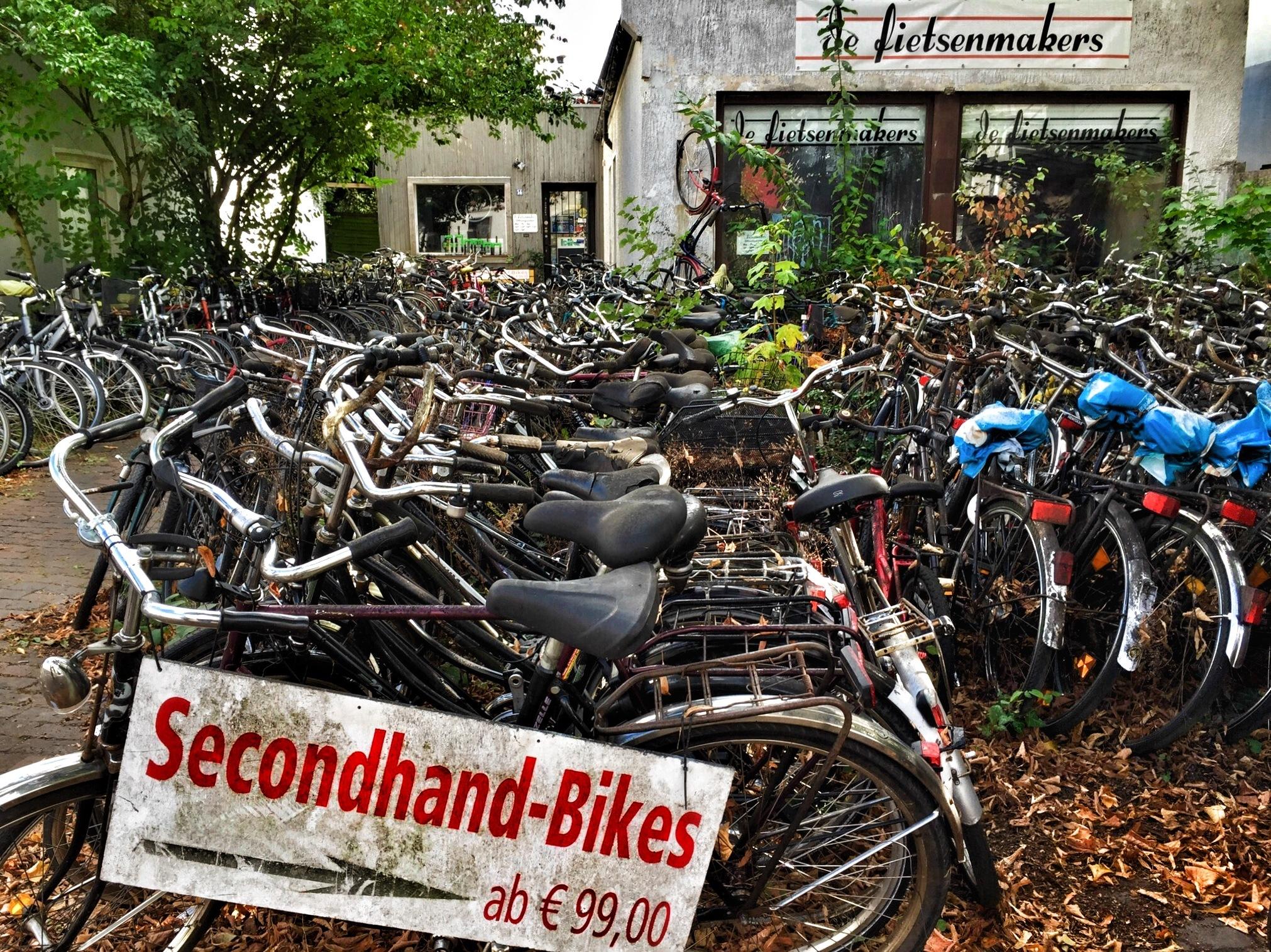 Secondhand-Bikes by Harry Schäfer
